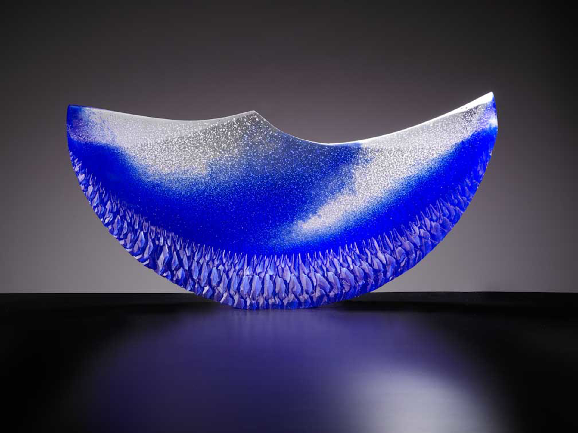 Blue Half Moon by Alex Bernstein
