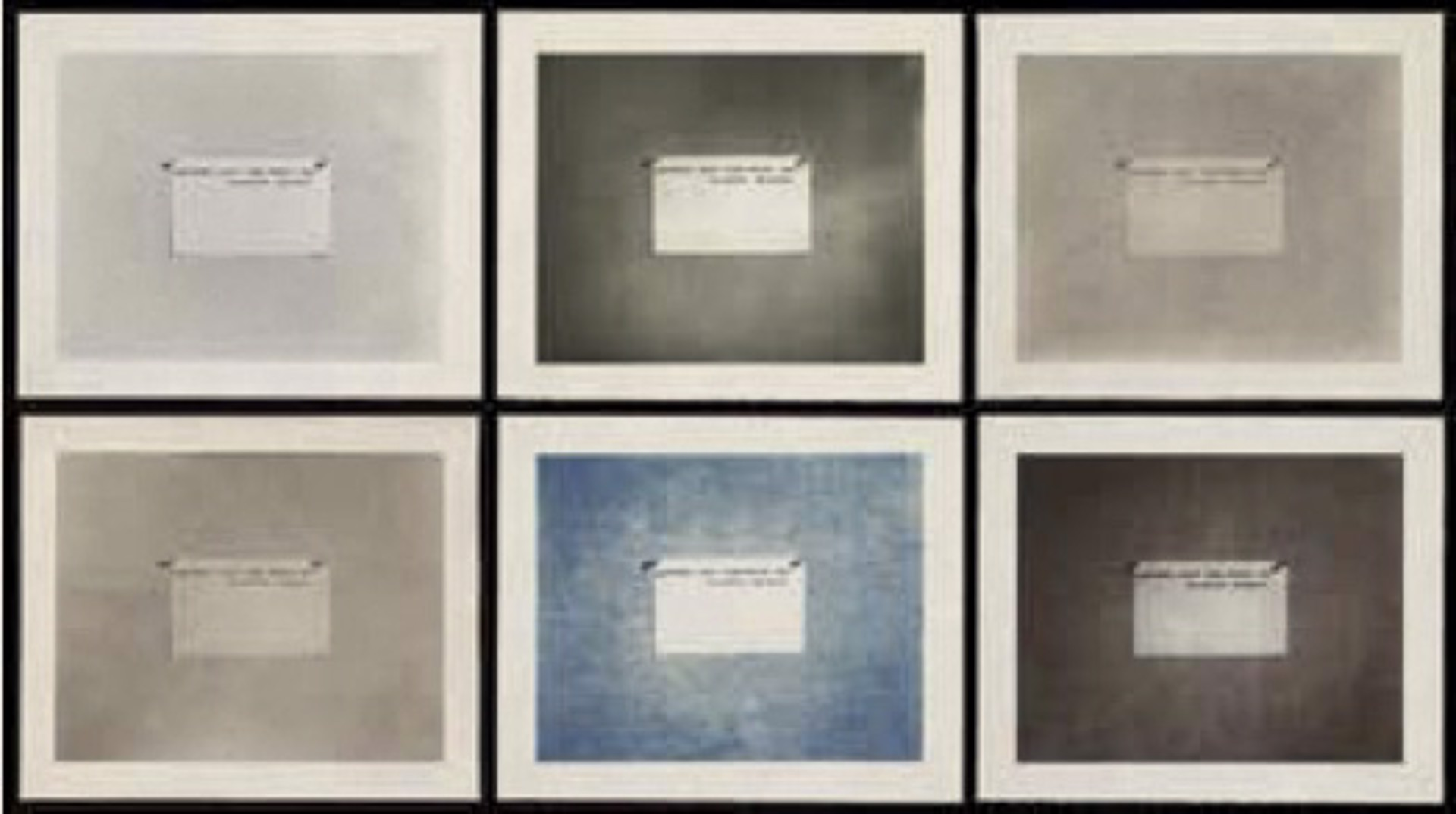 Before the Age of Mechanical Reproduction by Mel Bochner