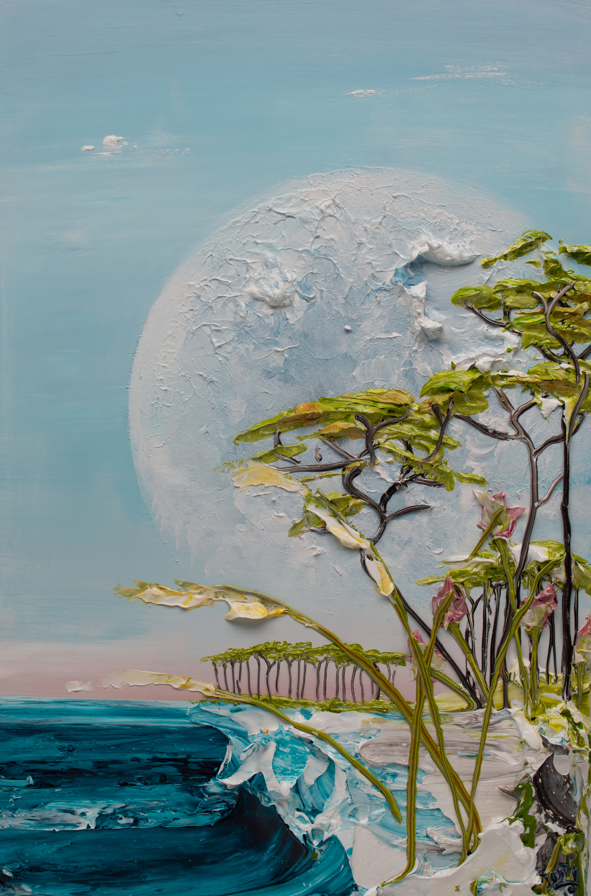 MOONSCAPE -MS-24X36-2019-239 by JUSTIN GAFFREY
