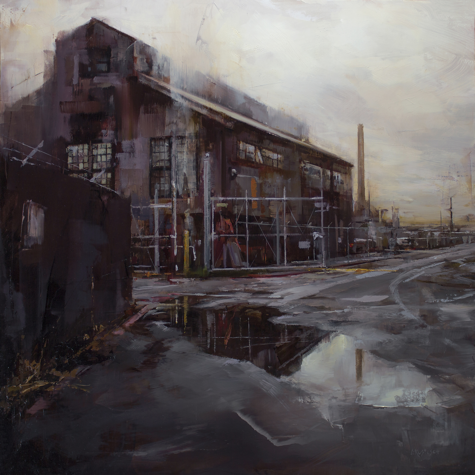The Quiet of Old Industry by Lindsey Kustusch