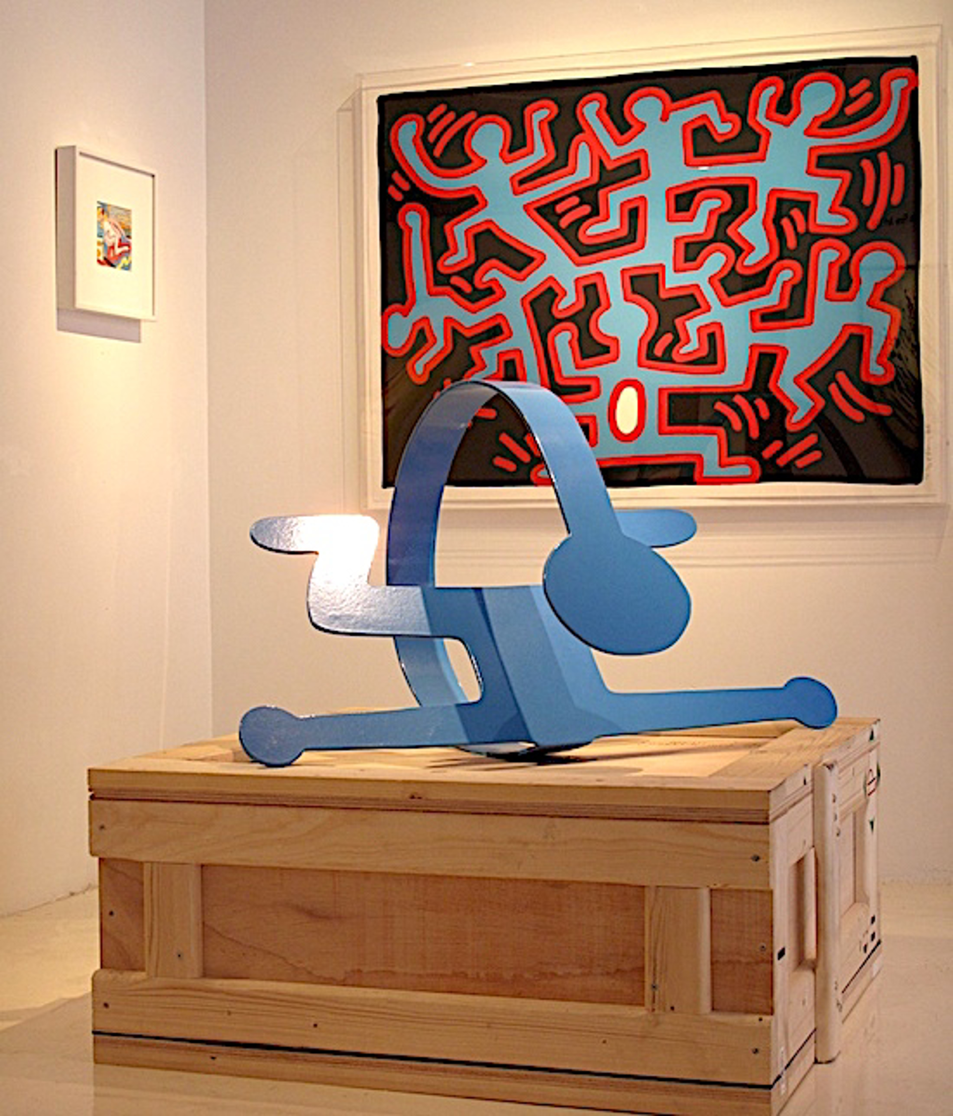 Growing, Trial Proof by Keith Haring