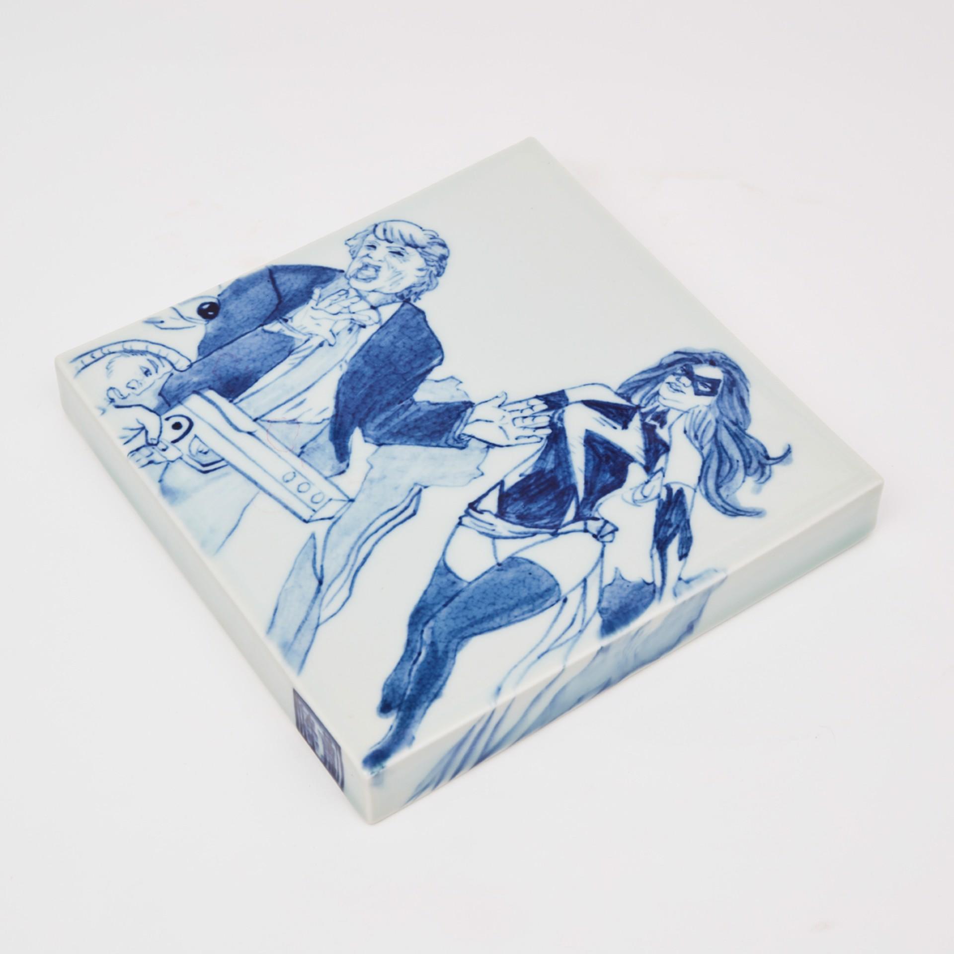 """8"""" Tile 4 by Shoji Satake"""