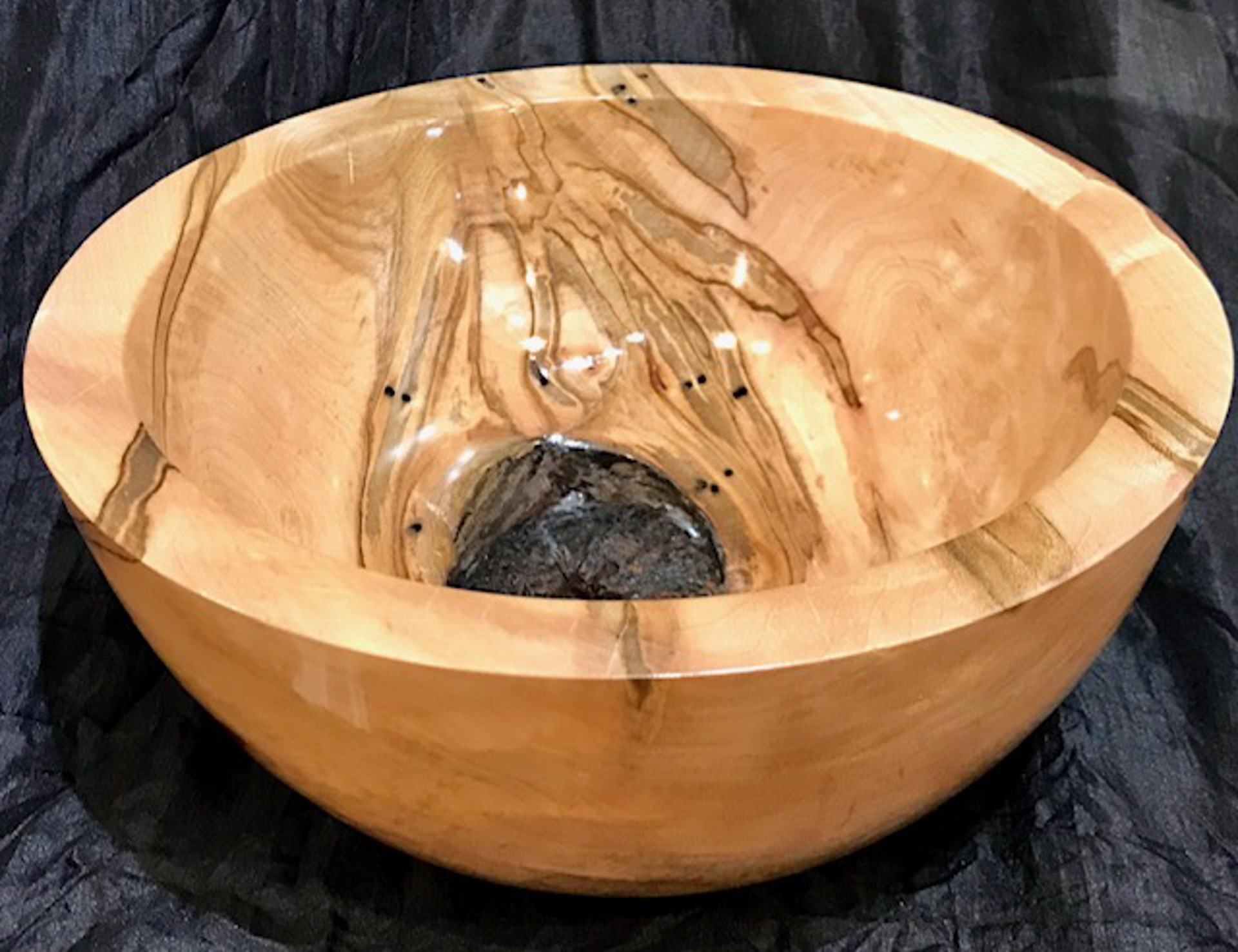 Ambrosia Maple Knot Bowl by Brian Higgins