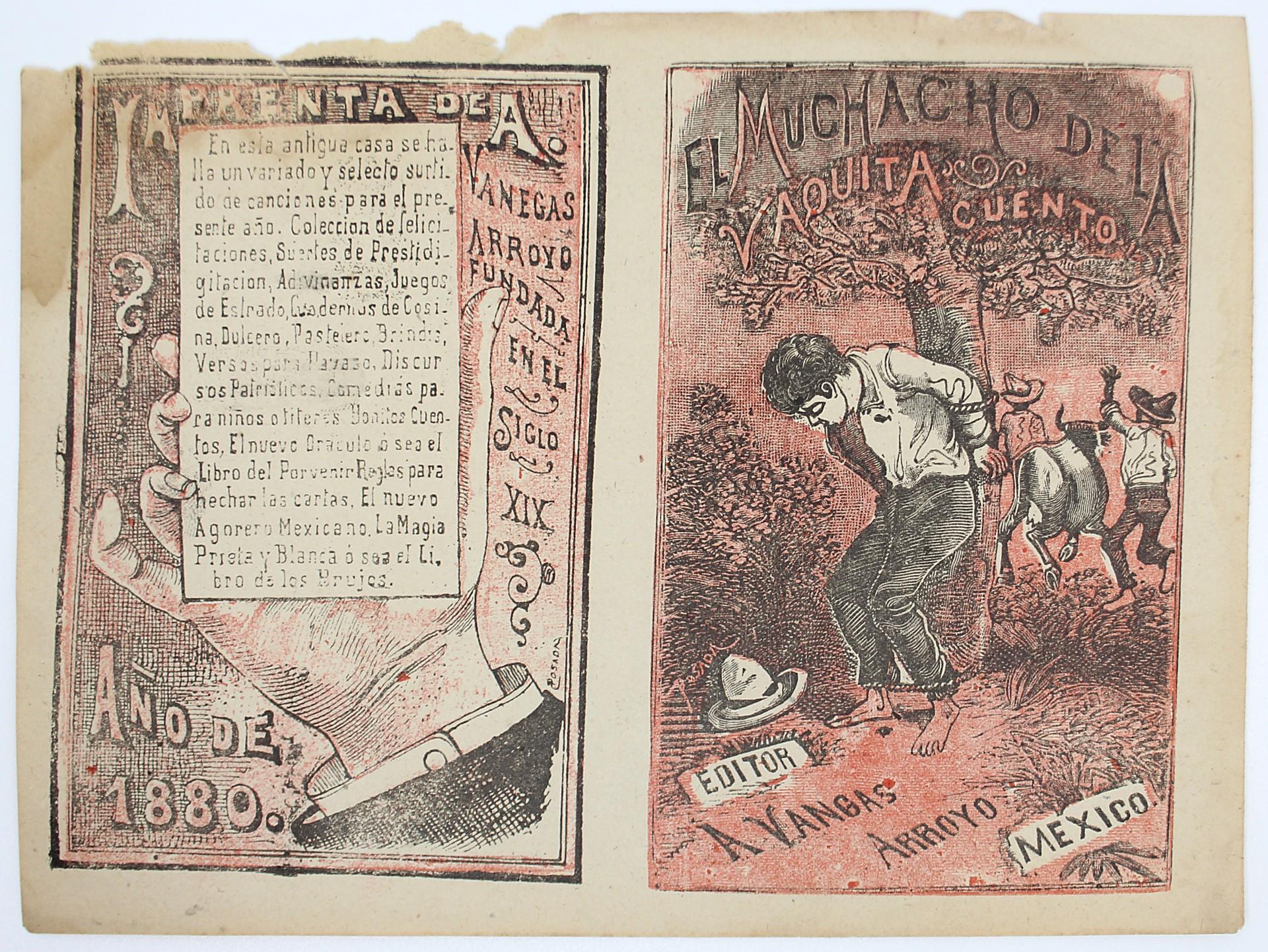 El Muchaco de la Vaquita by José Guadalupe Posada (1852 - 1913)