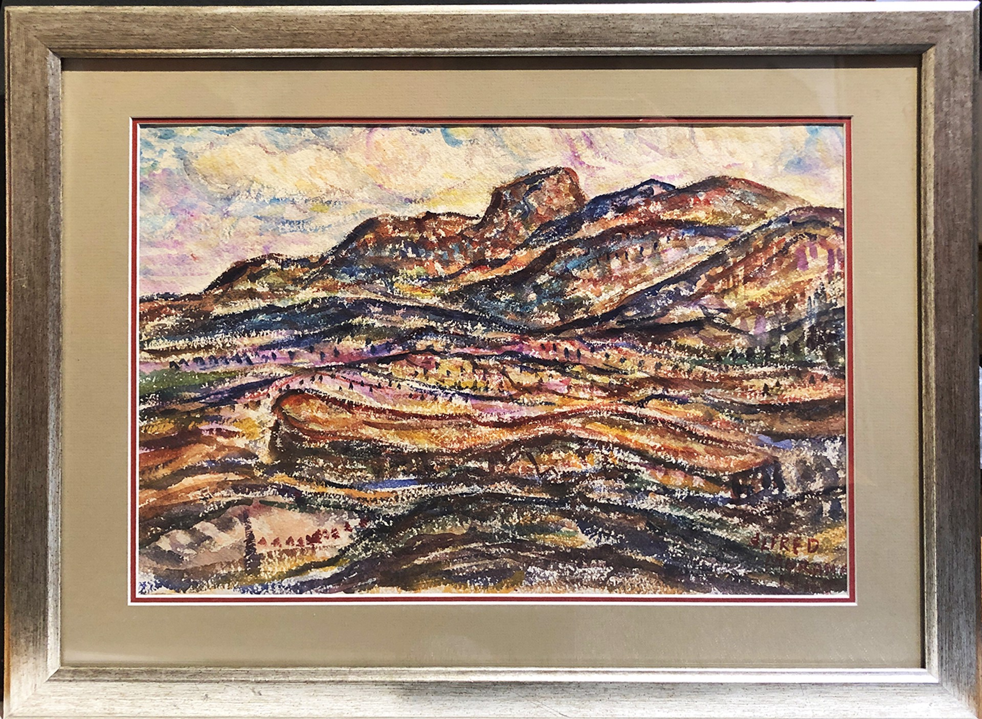 Northeastern New Mexico by Alfred Morang