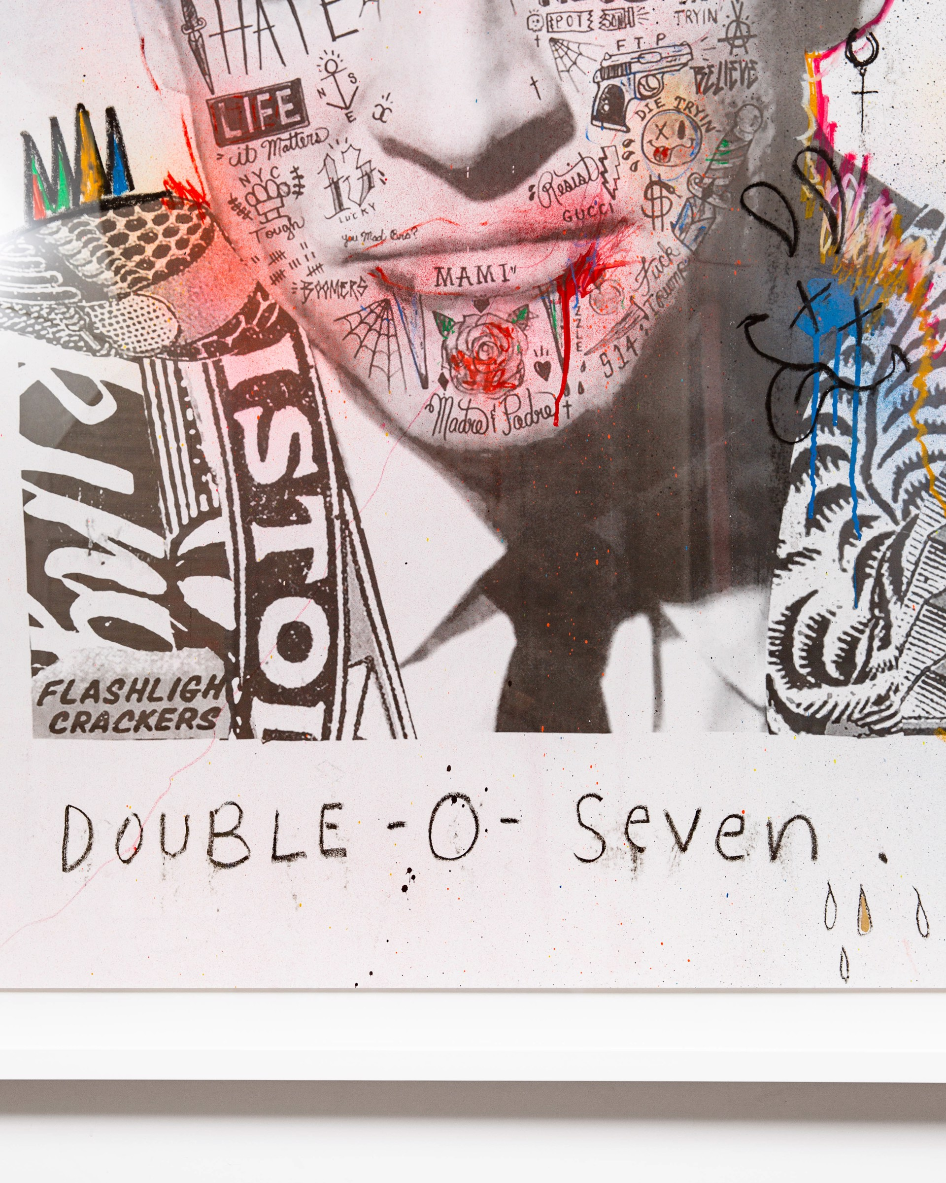 "James Bond ""Double-o-Seven"" - Street Piece by Stikki Peaches"