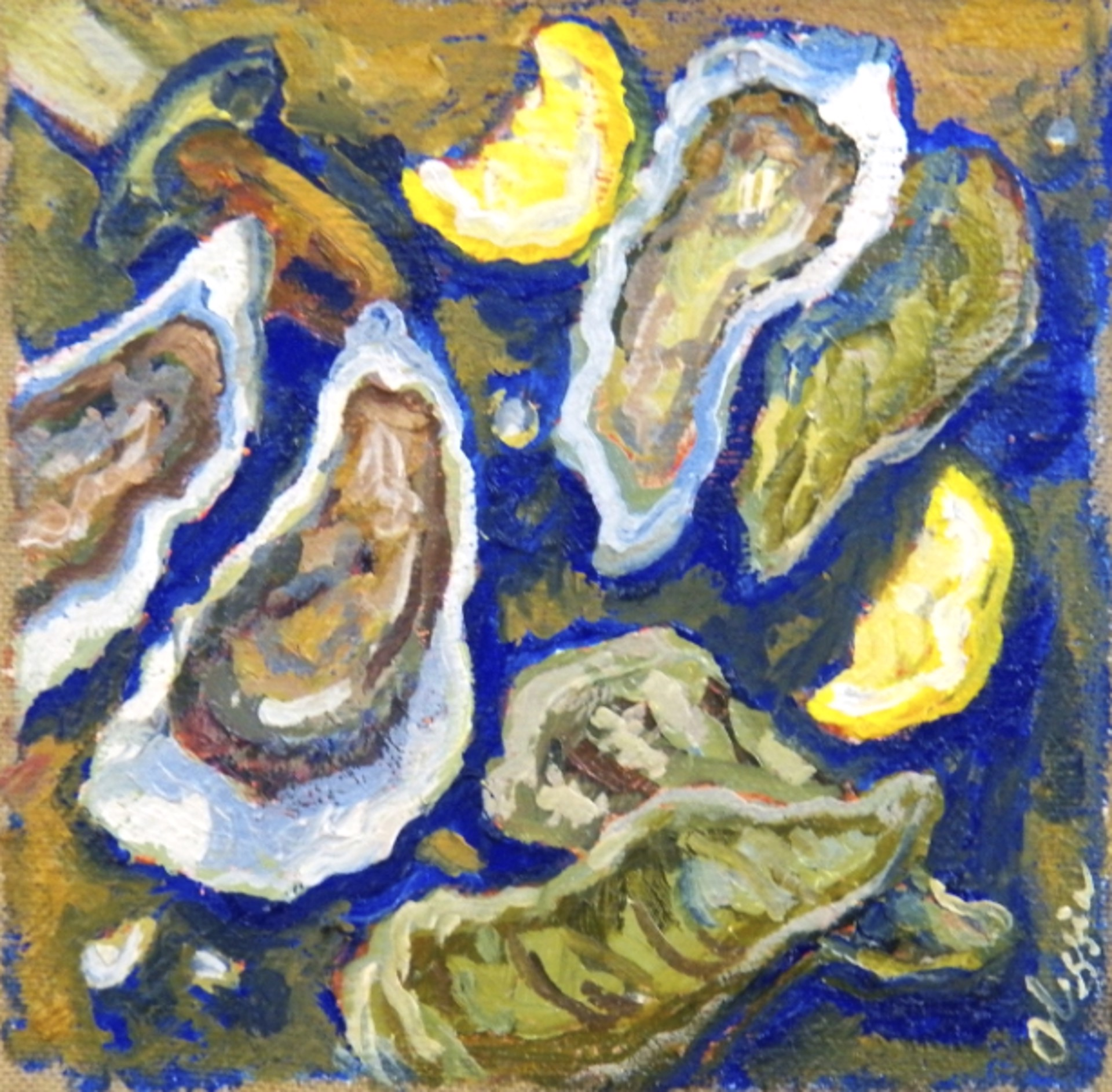 Blue Oysters II by Olessia Maximenko