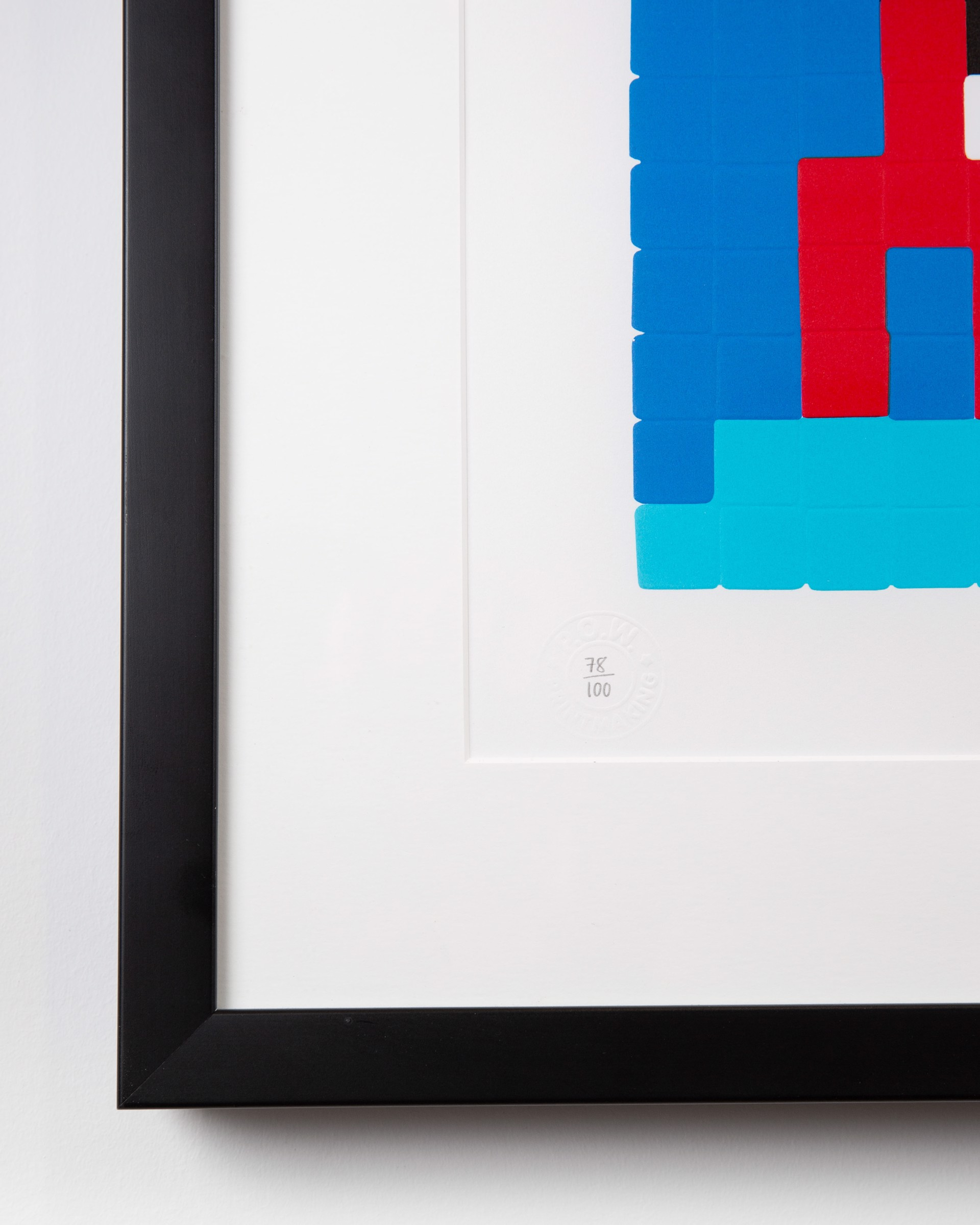 Space One (red) by Space Invader