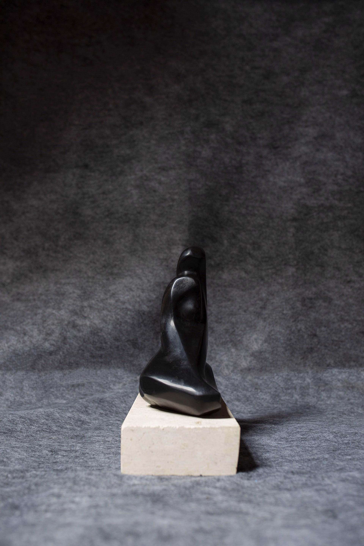 Seated Twist by Steven Lustig