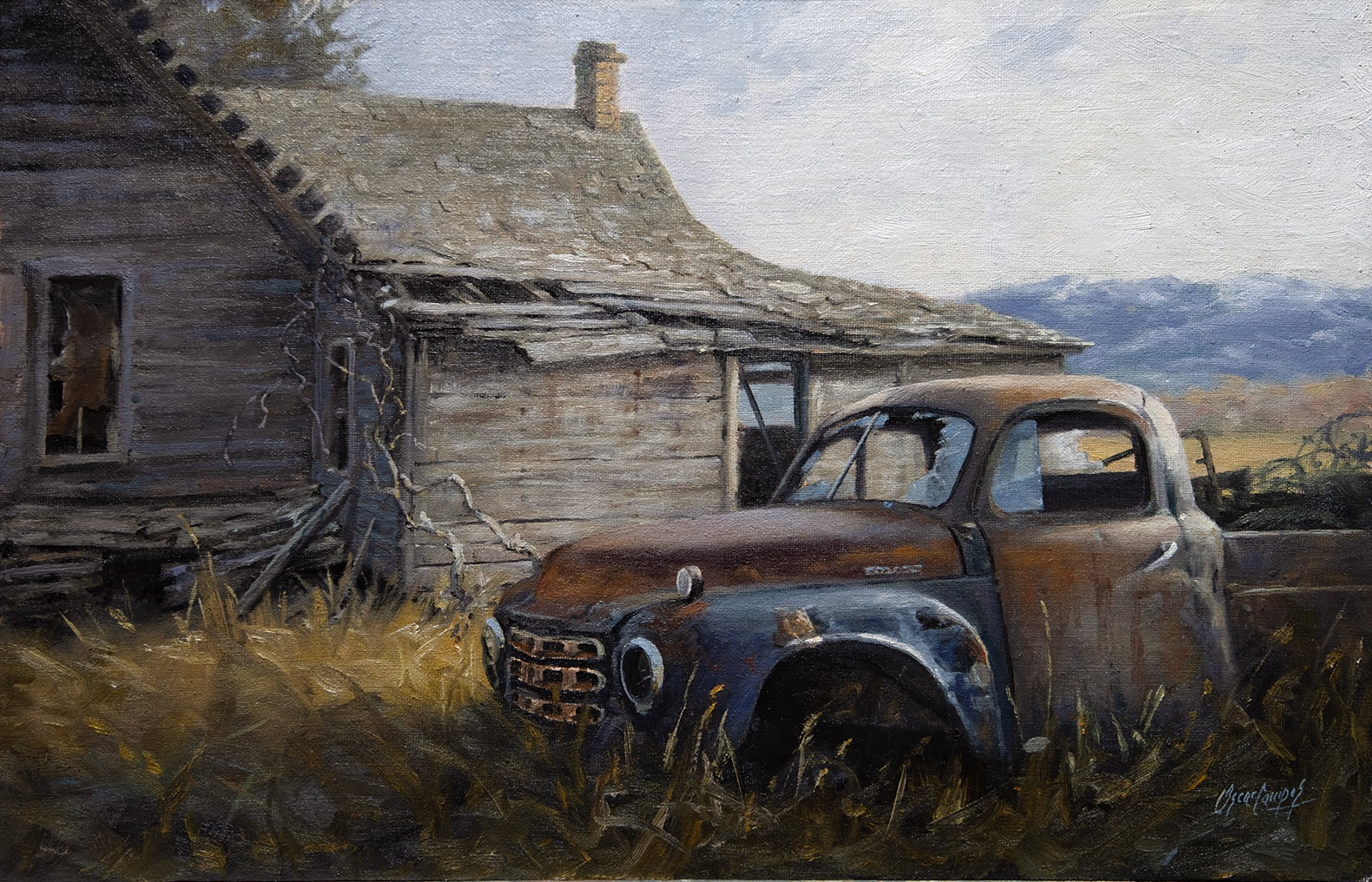 The Old Truck by Oscar Campos