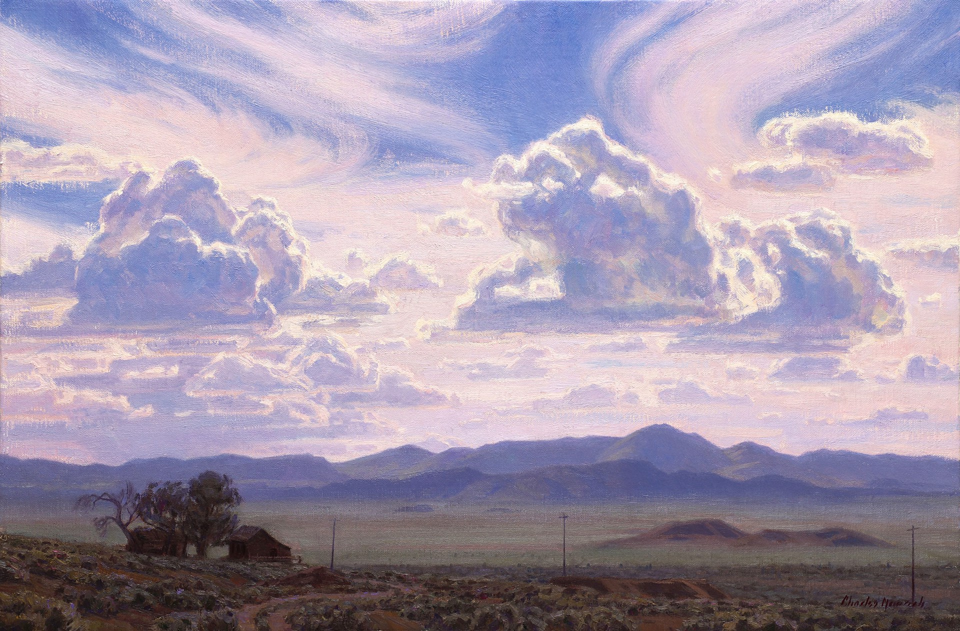 Nevada Cloud Dance by Charles Muench