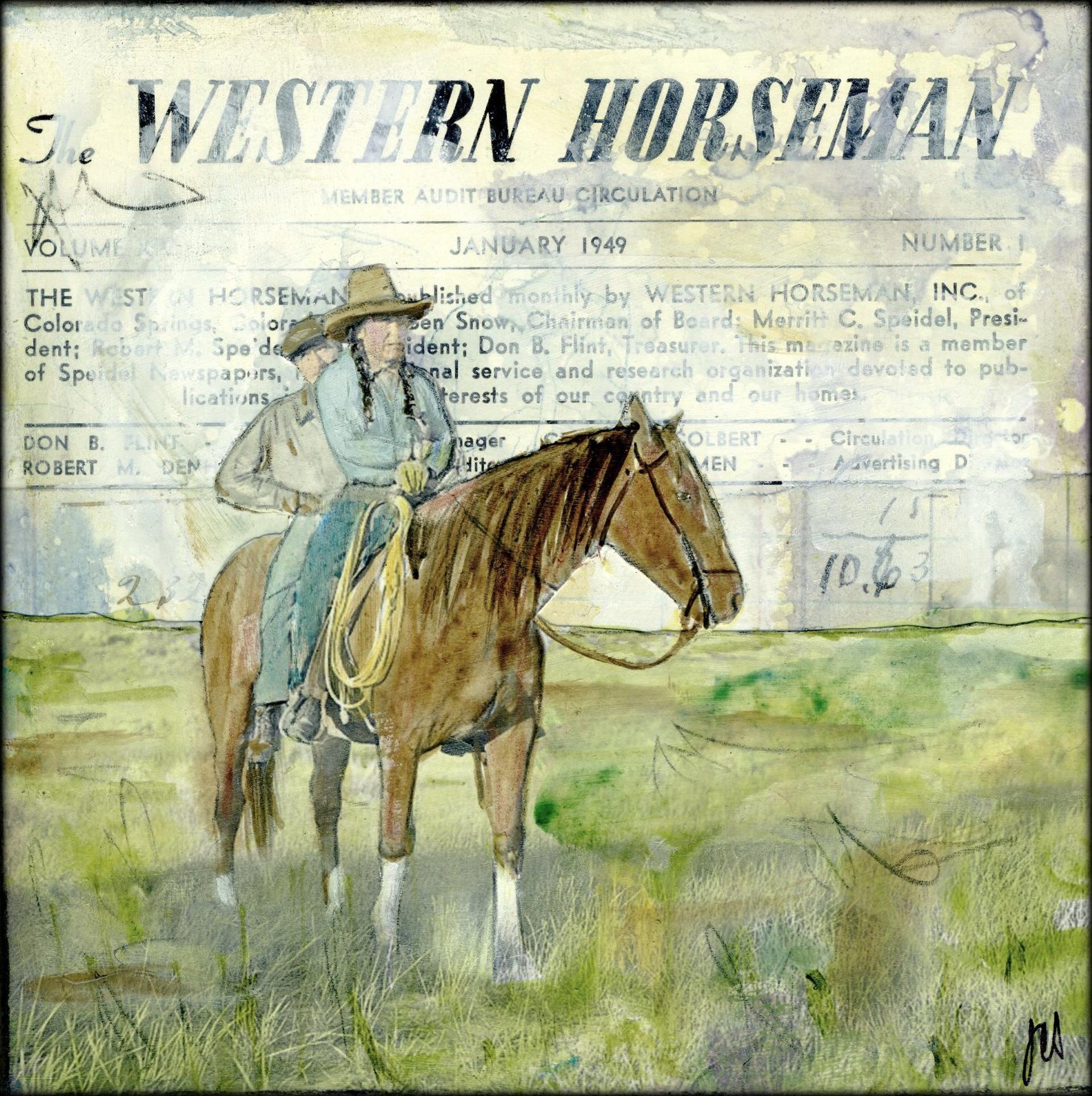 Western Horsemen by JC Spock