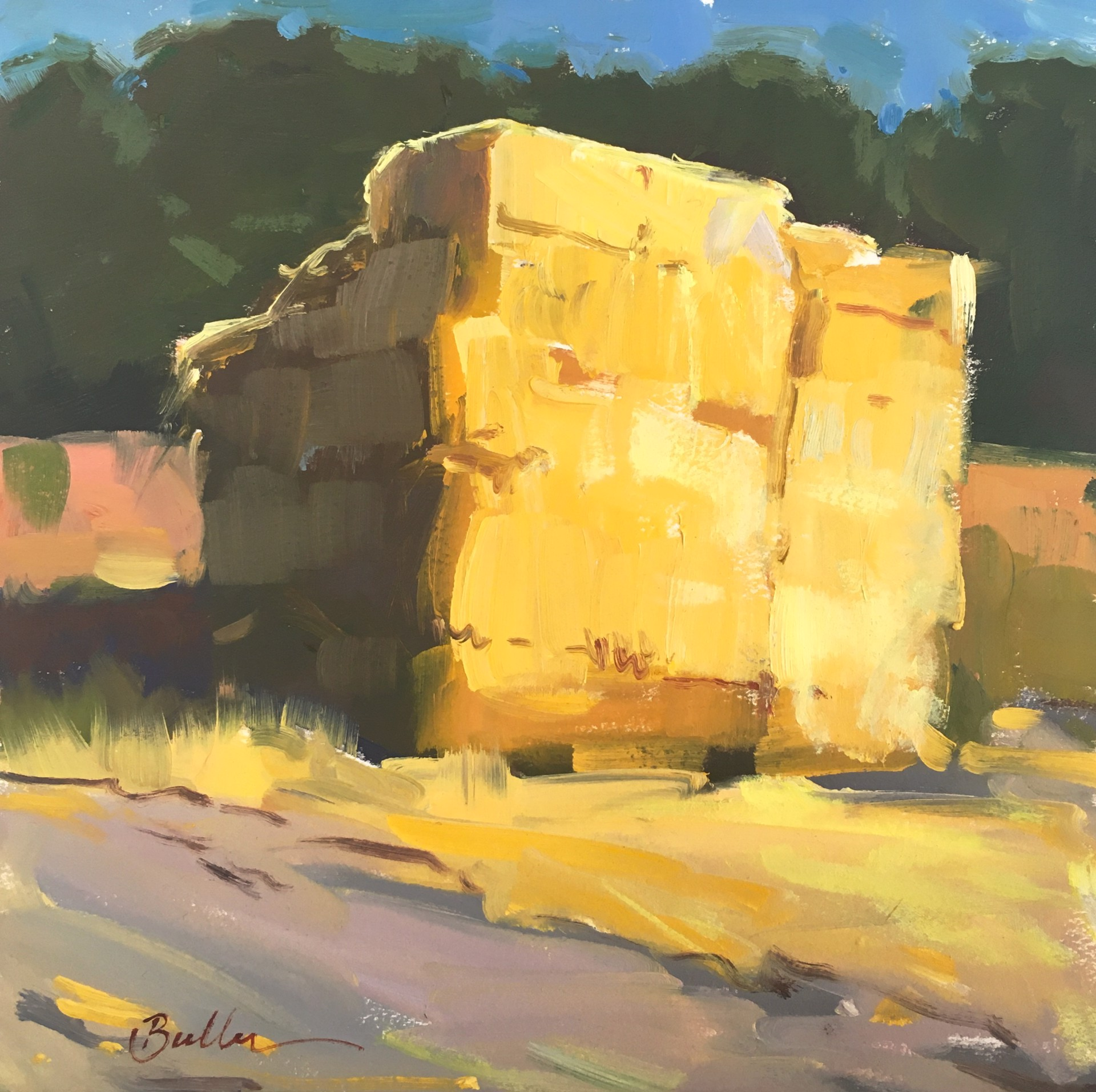 Bales Revisted Once More by Samantha Buller