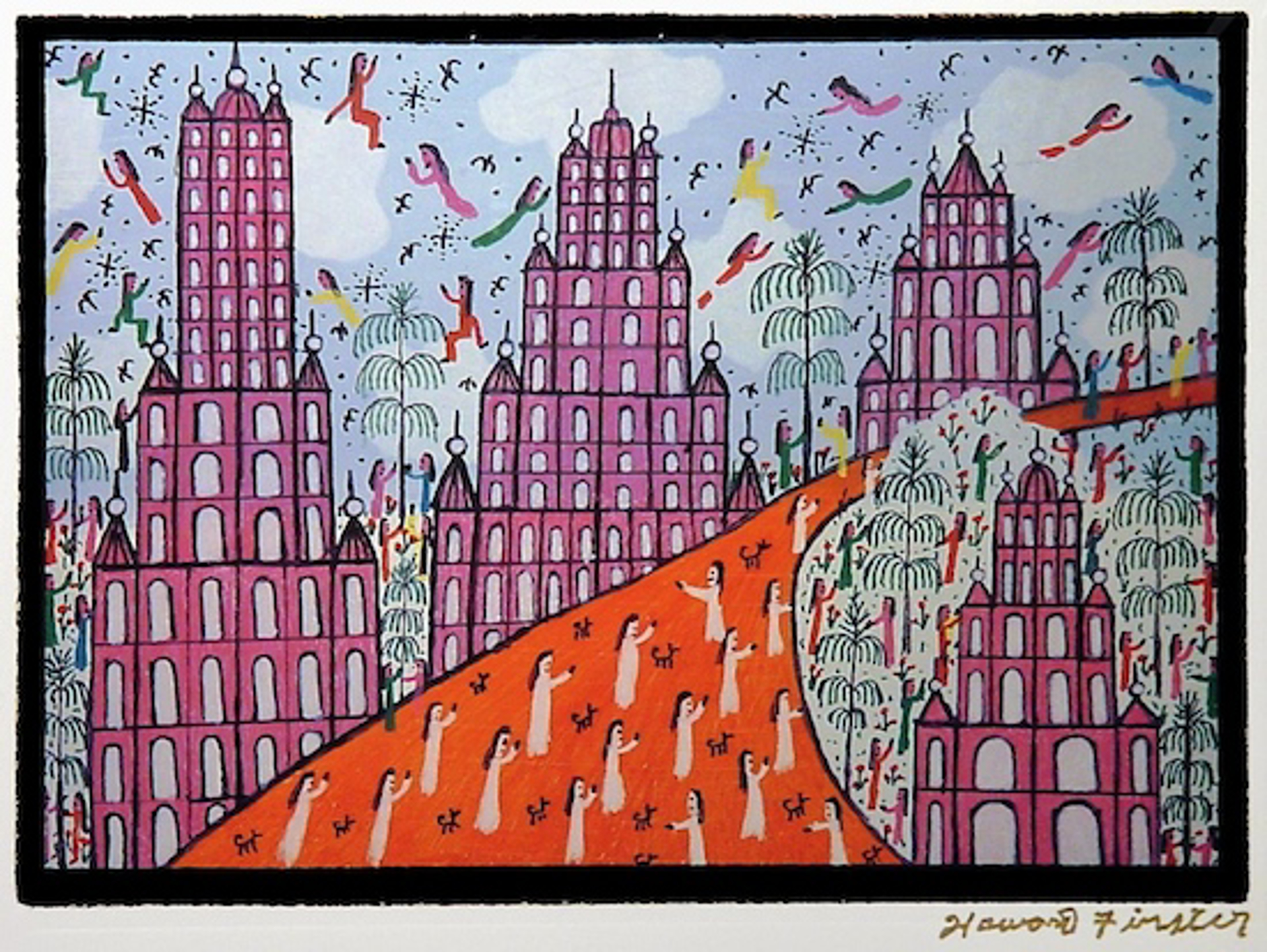 Sentric Norial by Howard Finster