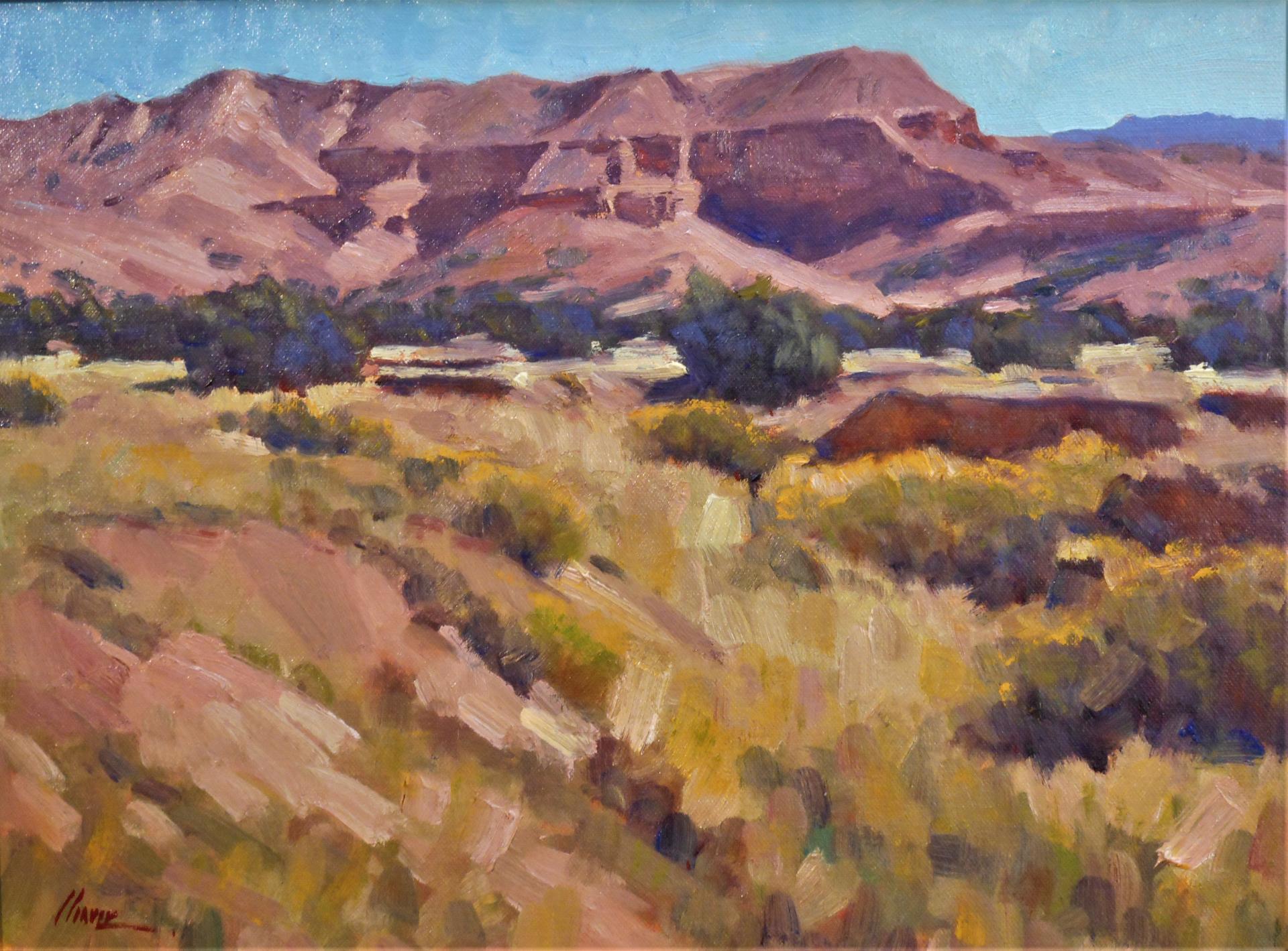Tesuque Pueblo by Lorenzo Chavez