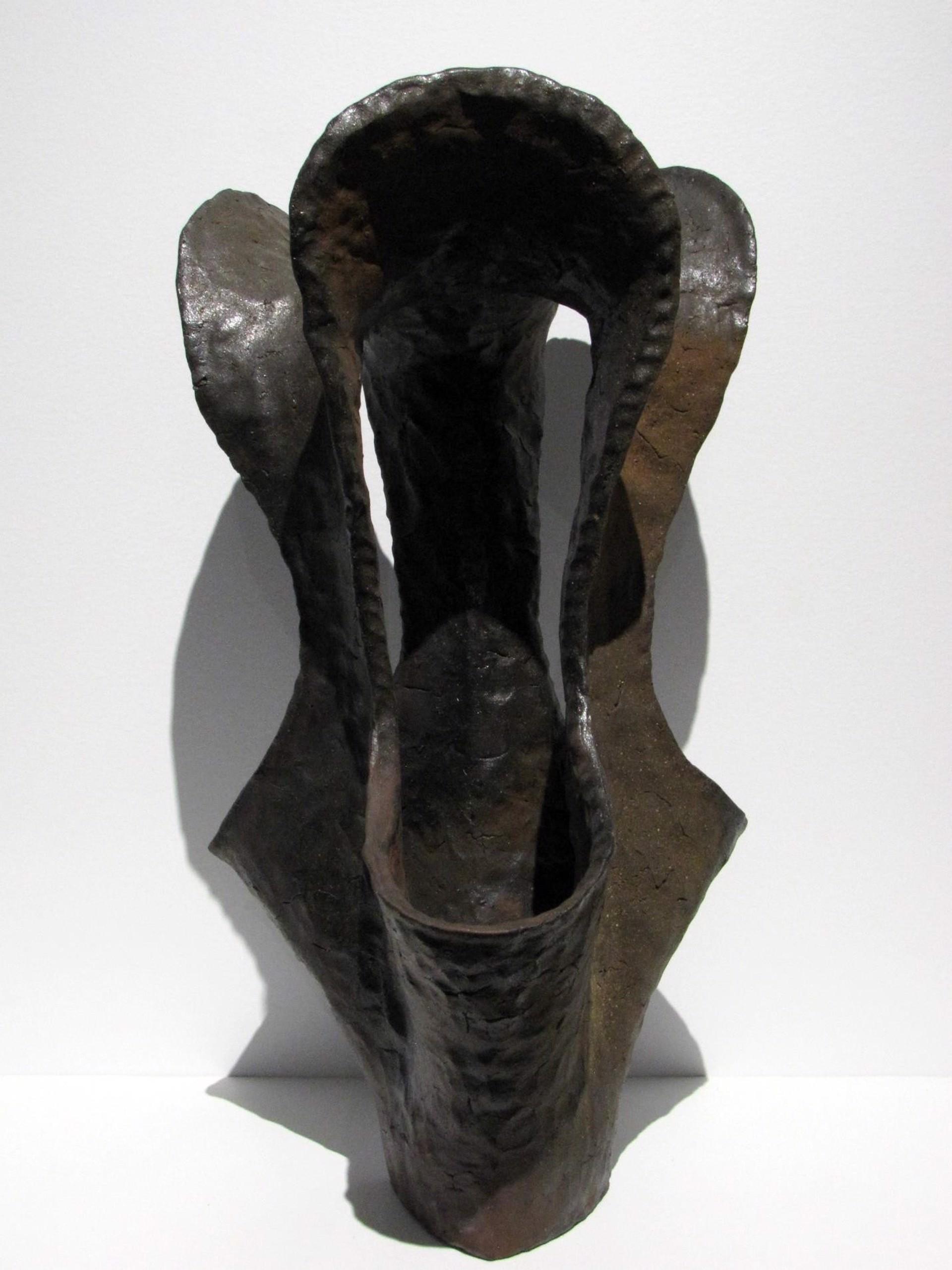 Black and Maroon Basket by Shasta Krueger