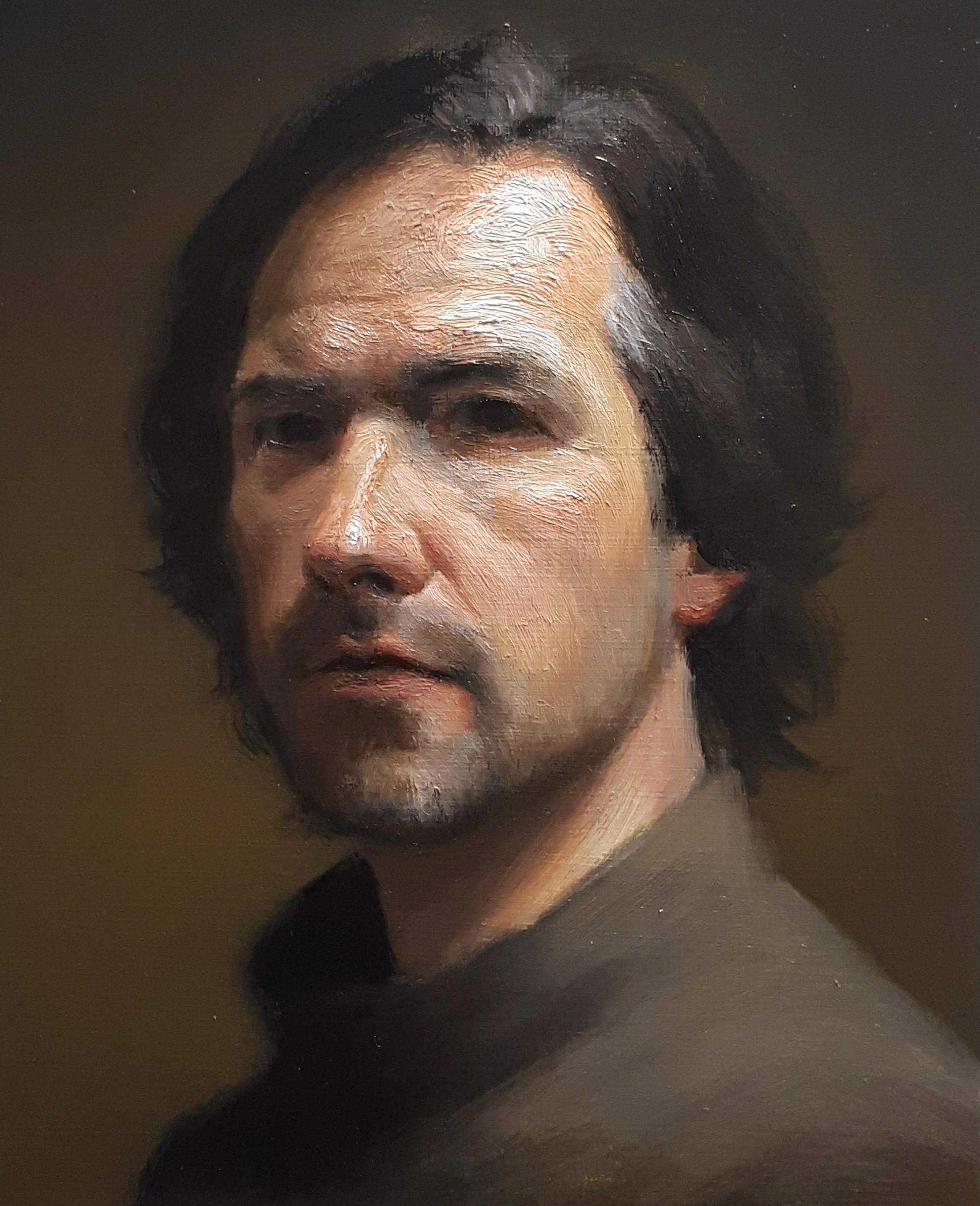 Self Portrait Commission  by Michael DeVore
