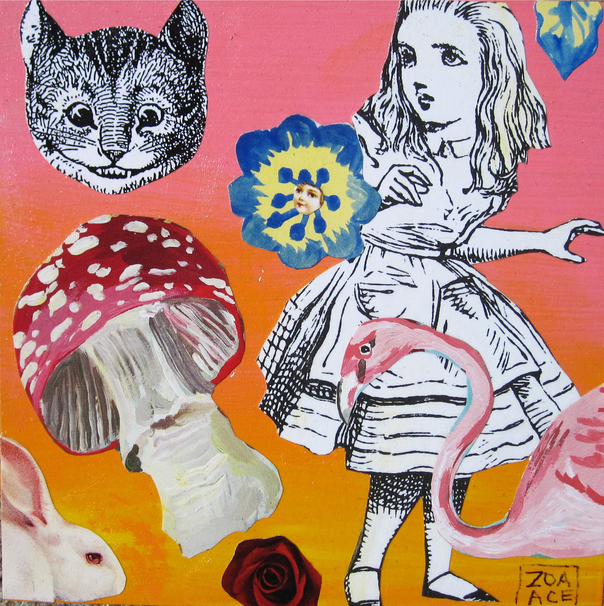Go Ask Alice by Zoa Ace