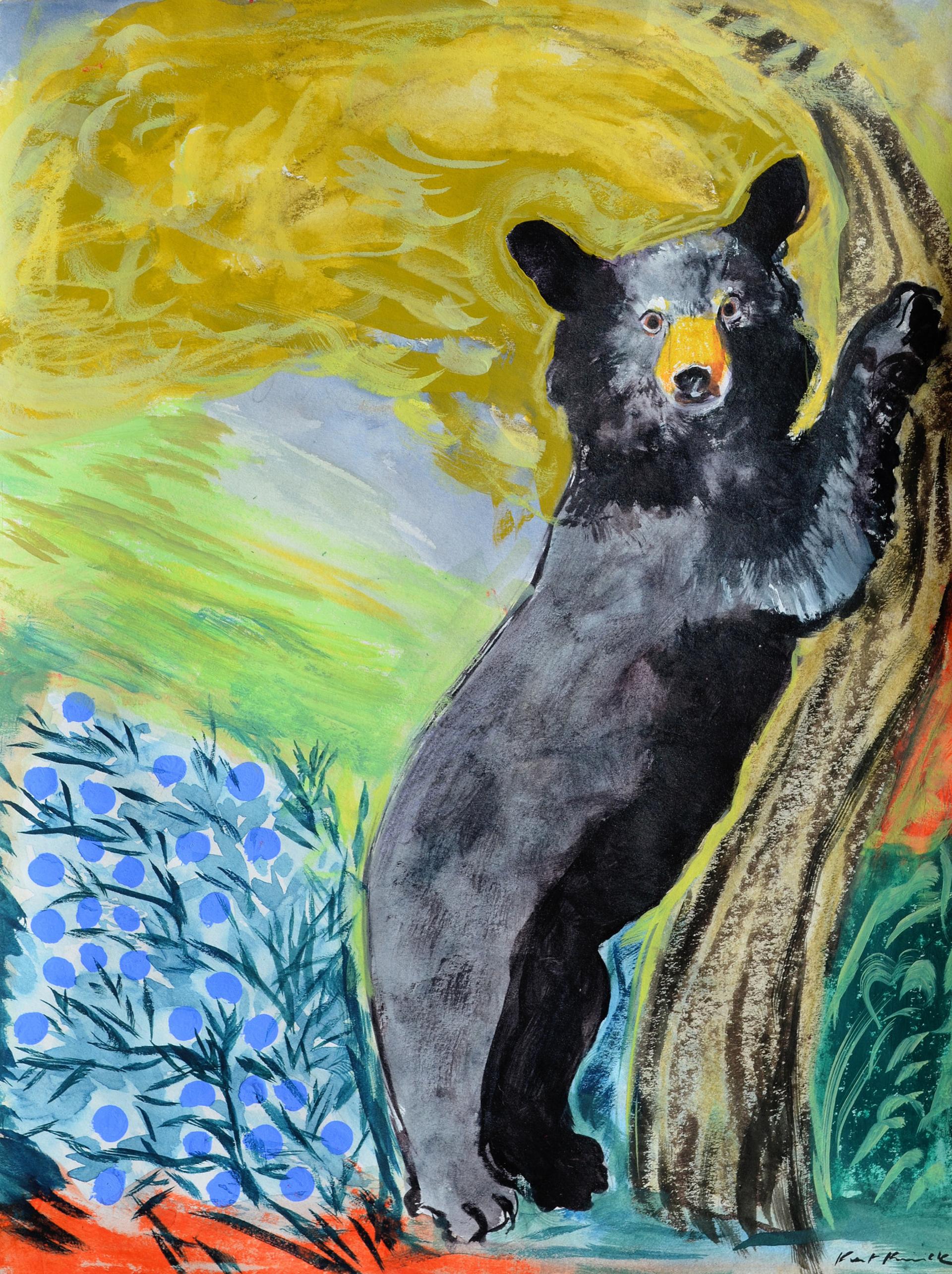 Black Bear by Kat Kinnick