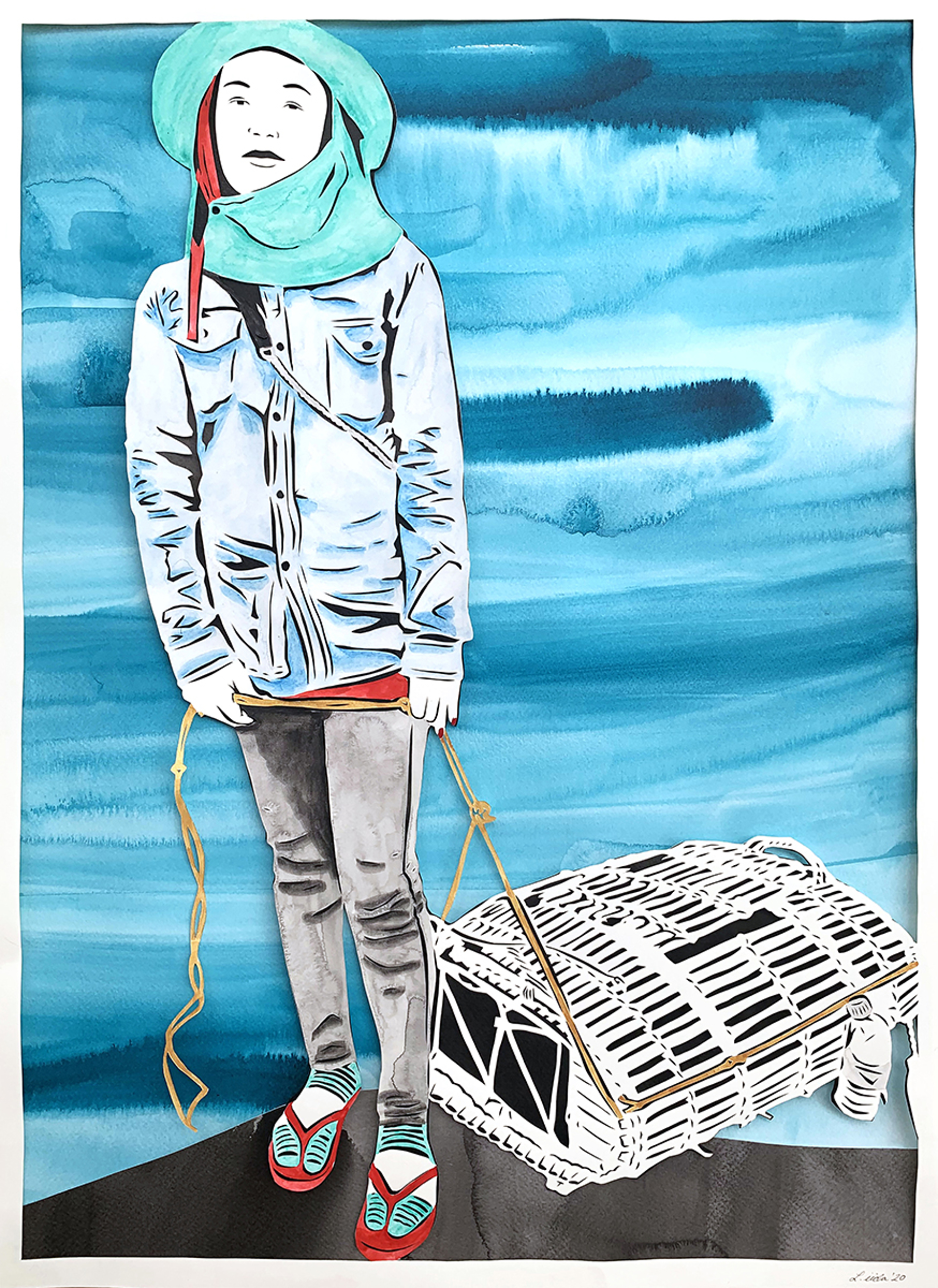 7. Chilly: The Appearance of a Fisherwoman at the Kep Crab Market by Lauren Iida