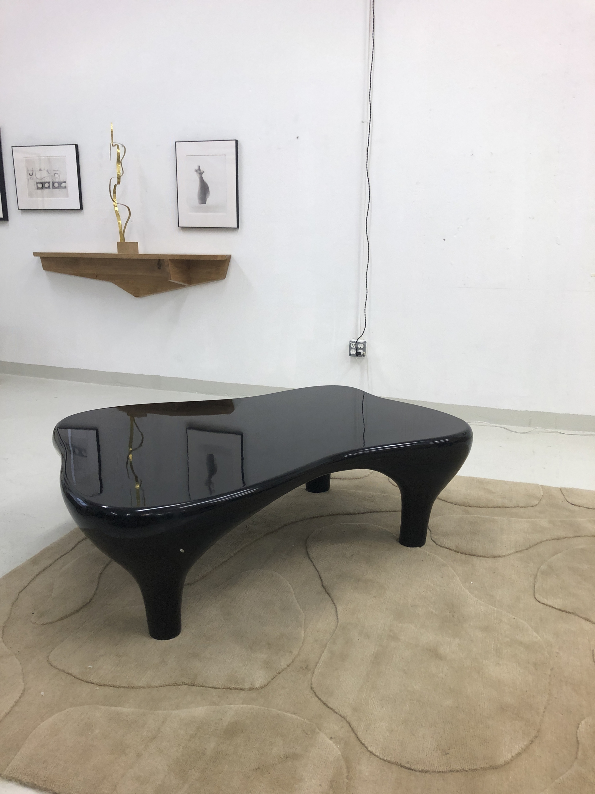 """""""Toro""""  Large coffee table by Jacques Jarrige"""
