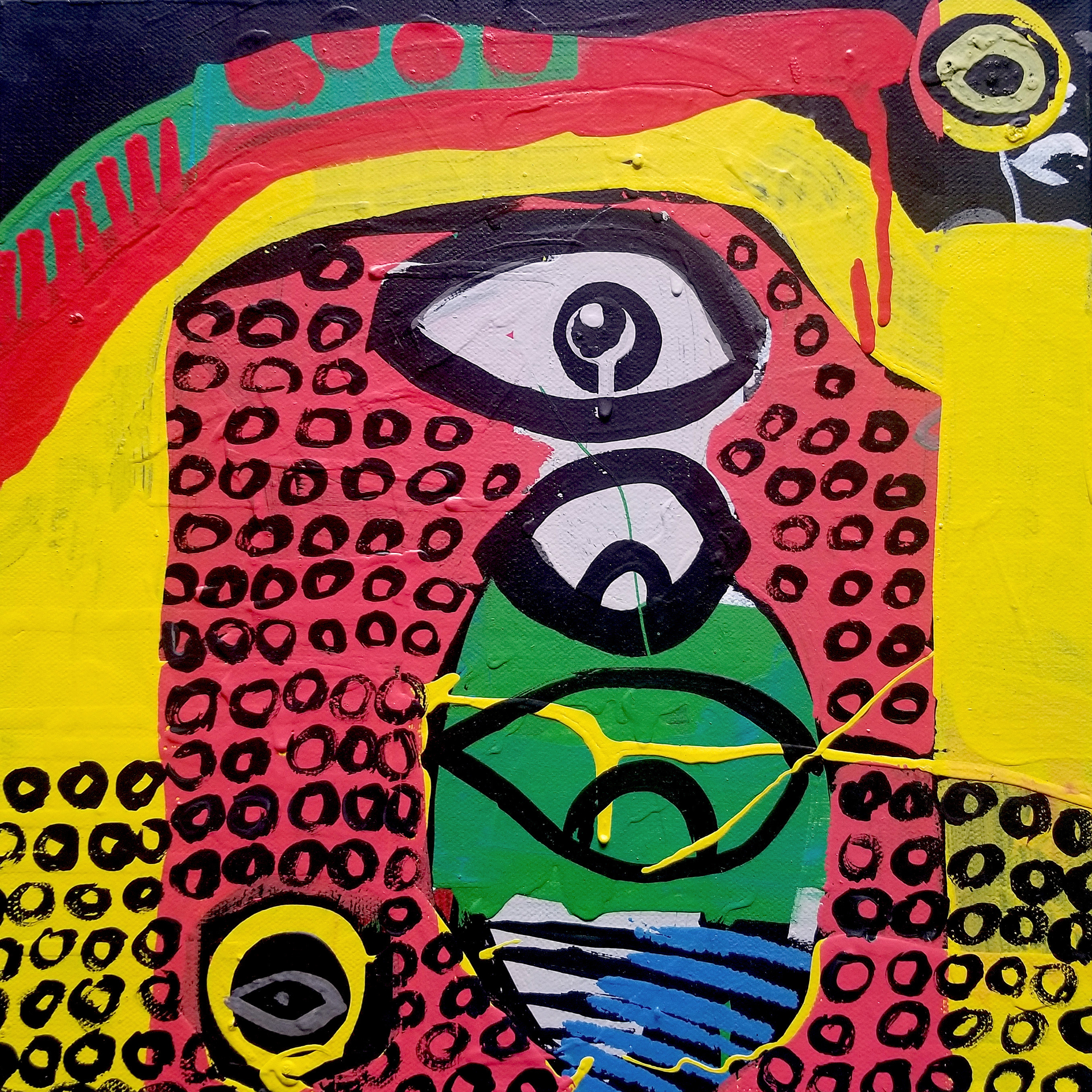 Beak Pile by Laura Castellanos