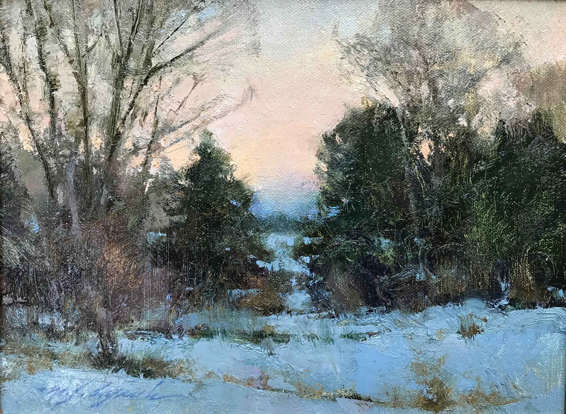 December Evening by Michael J Lynch