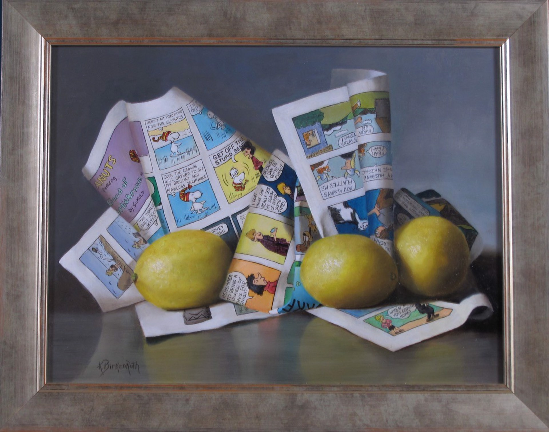 Lemons and Laughs by Kelly Birkenruth