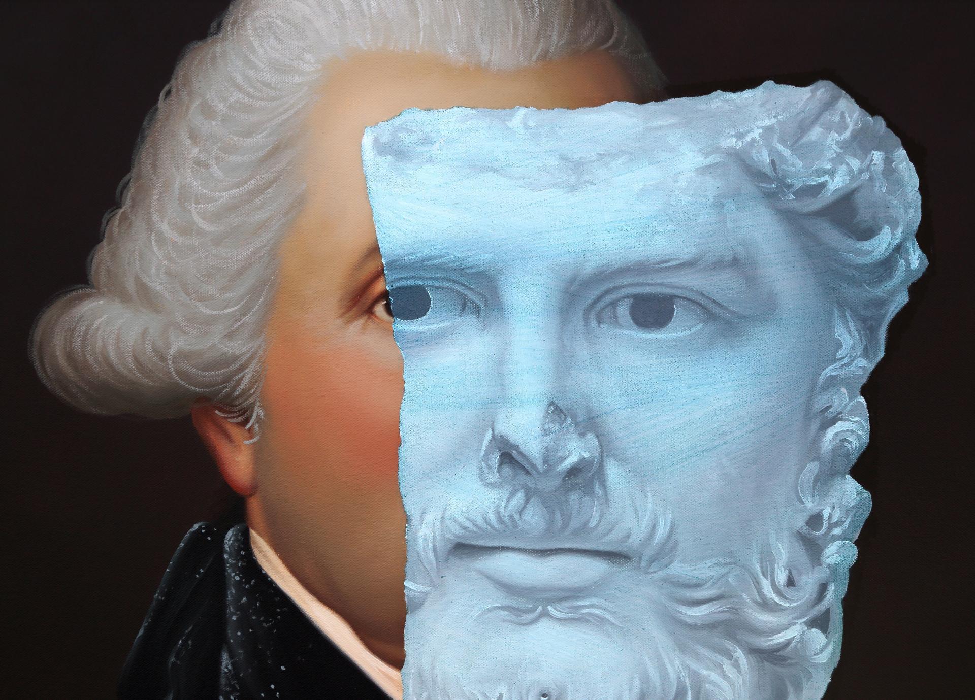 (George Washington) by Shawn Huckins