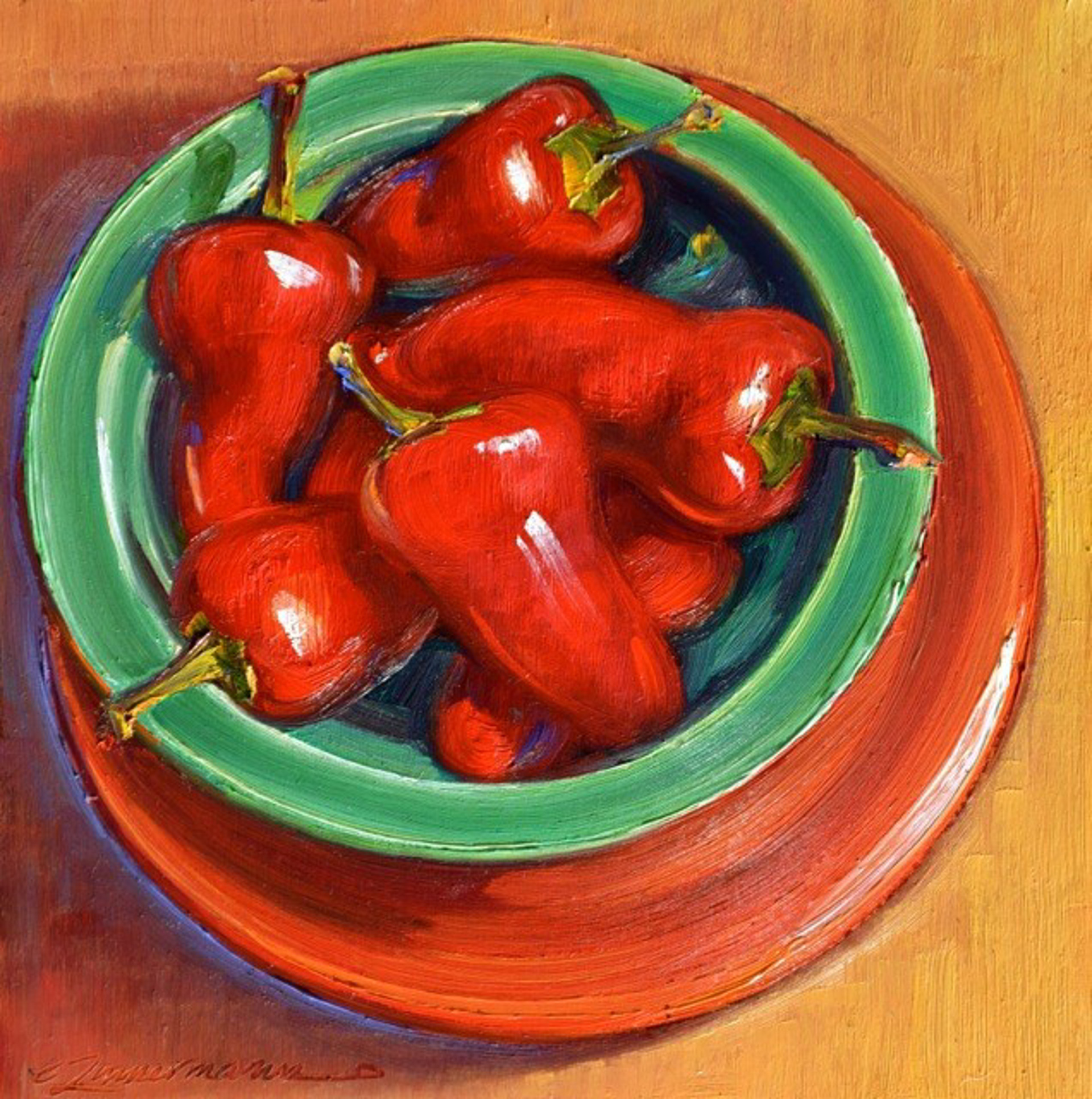 Red Hot Chili Peppers by Caroline Zimmermann