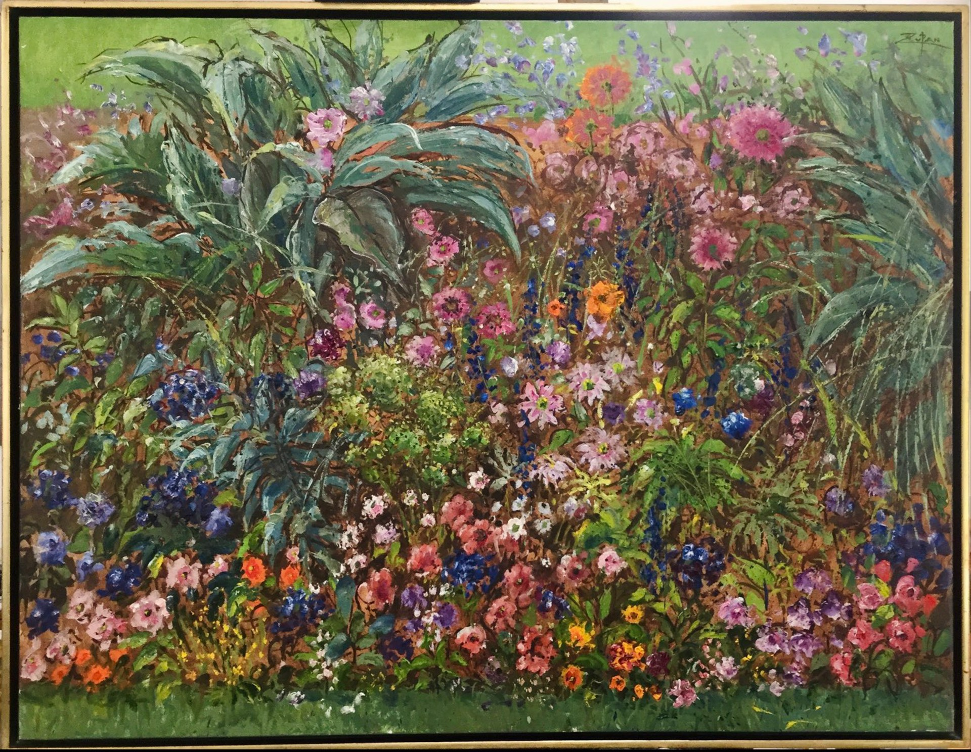 Botanical Study in Luxembourg Gardens, Paris by Bruno Zupan