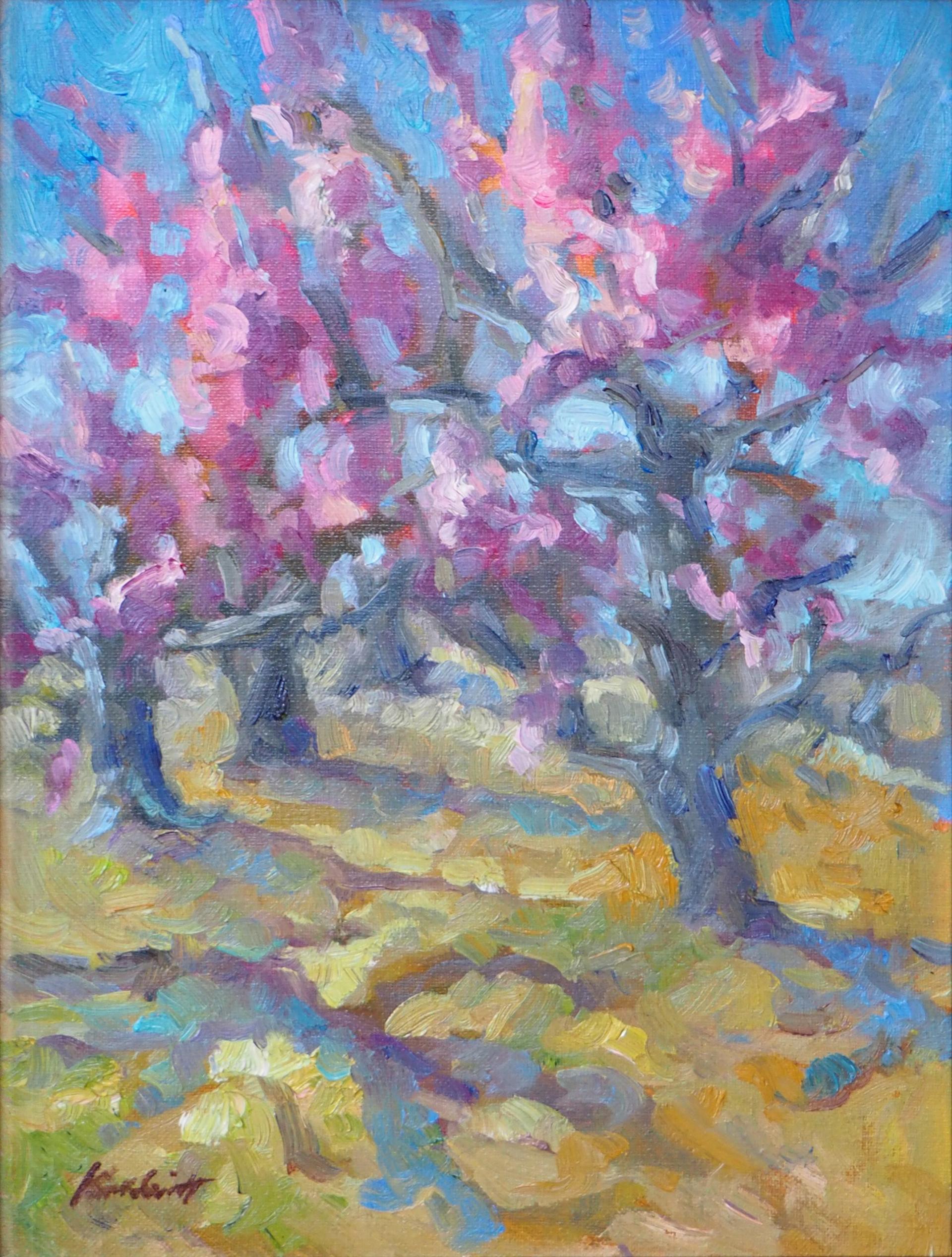Peach Blossoms by Karen Hewitt Hagan