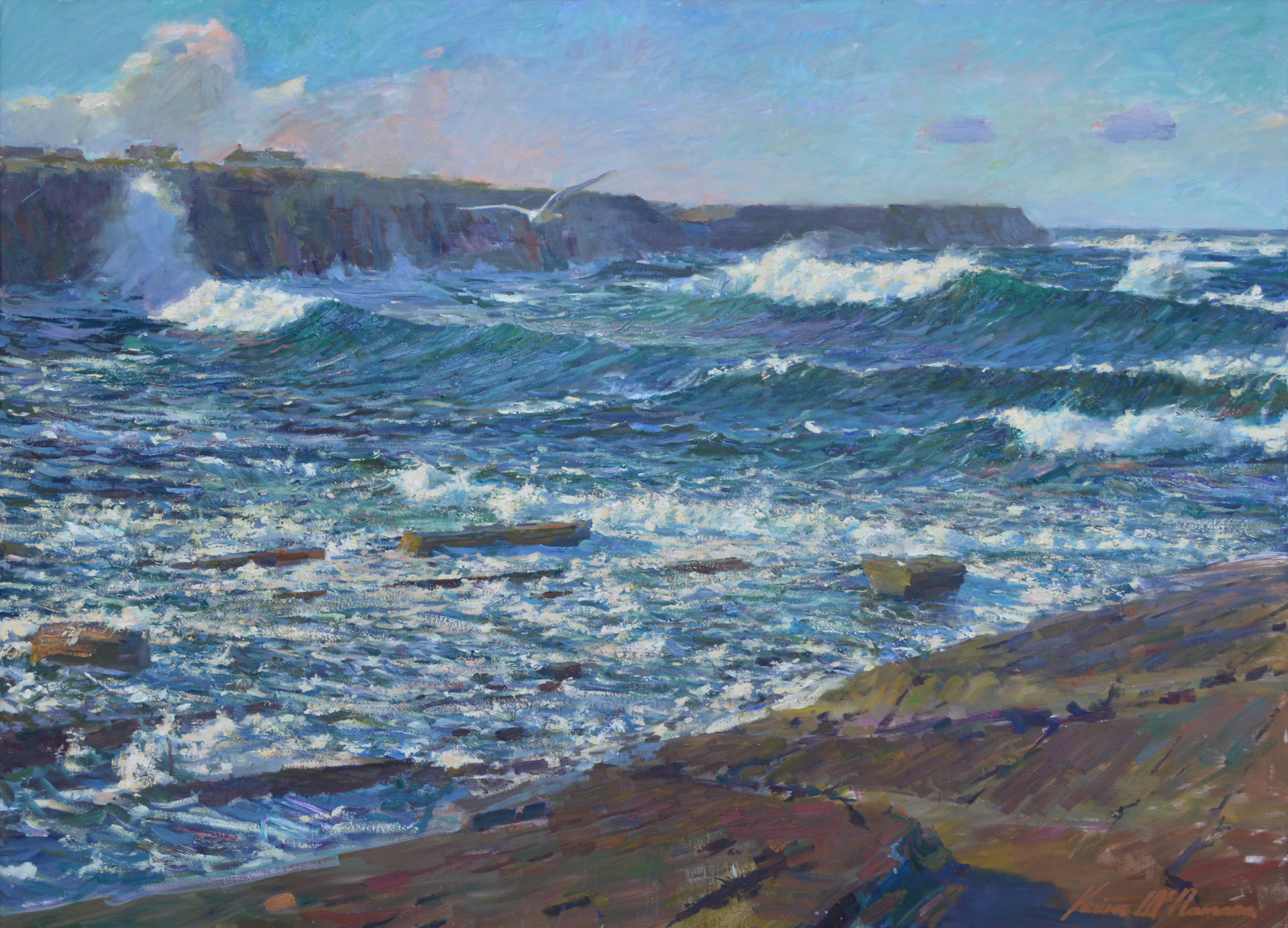Wild Sea by Kevin McNamara