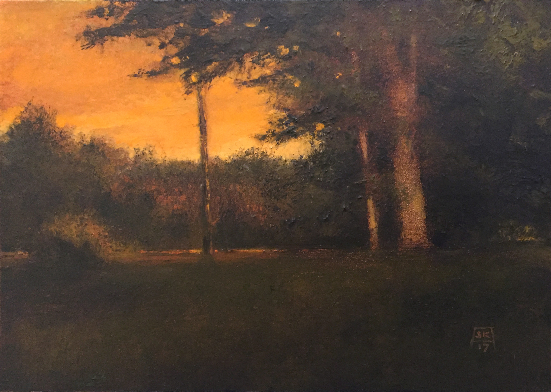 Georgian Trees by Shawn Krueger
