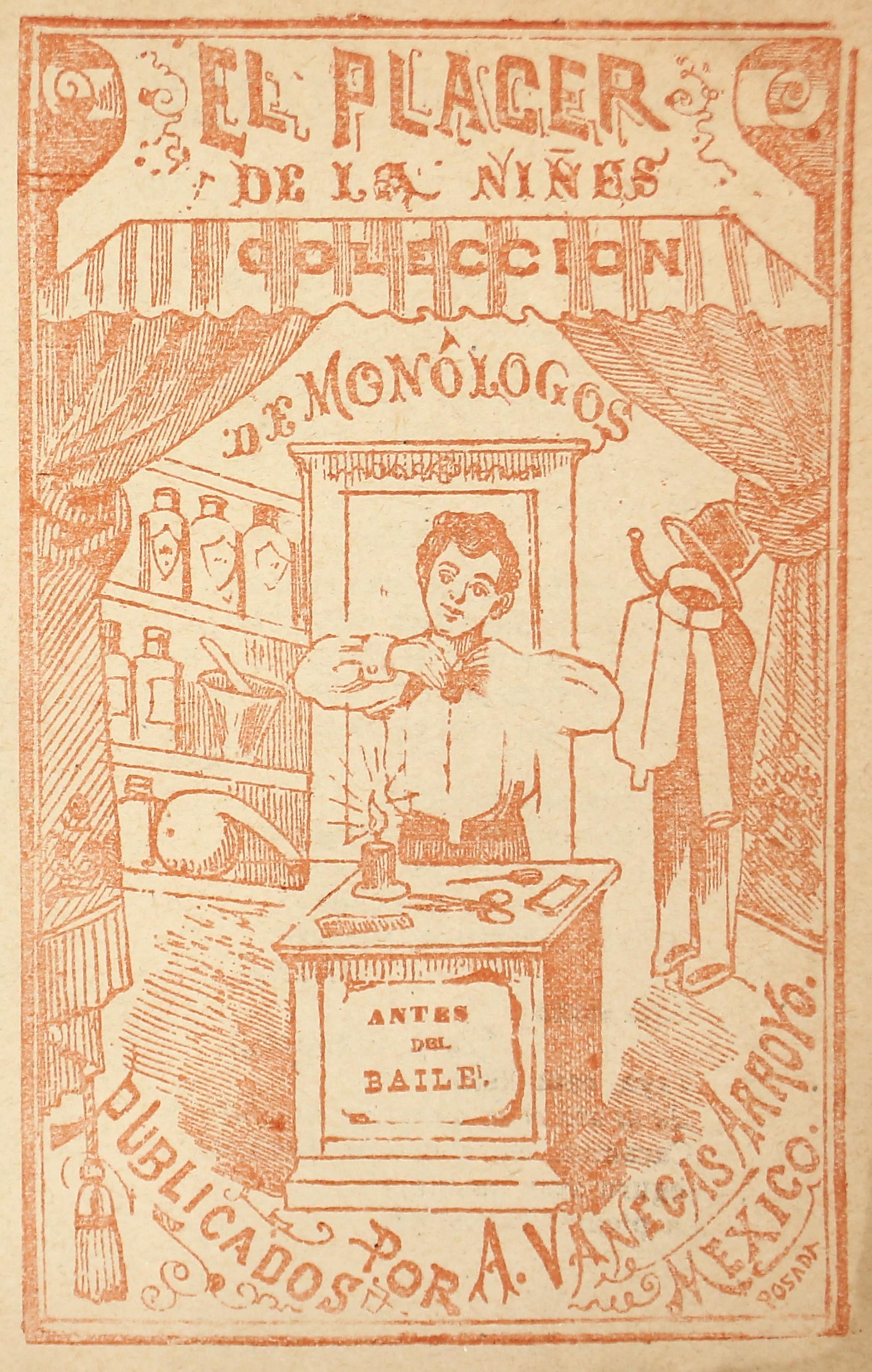 El Placer de la Ninos. Coleccion de Monologos. Antes del Baile. by José Guadalupe Posada (1852 - 1913)