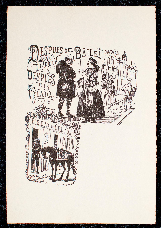 Despues del Baile by José Guadalupe Posada (1852 - 1913)