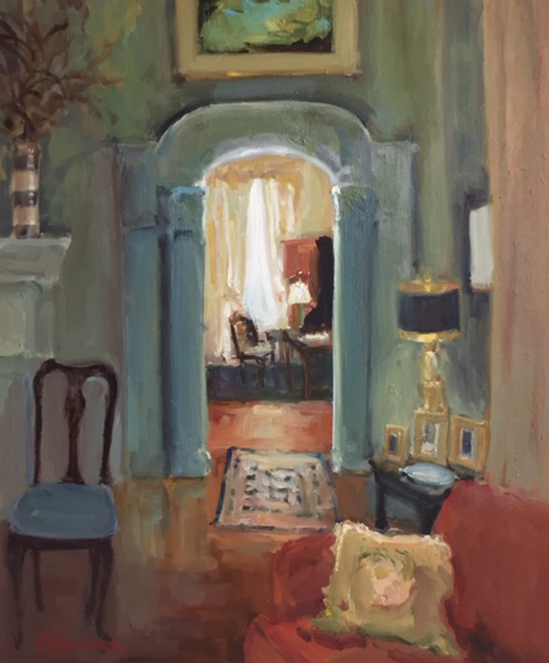 Through to the Next Room by Karen Lawrence
