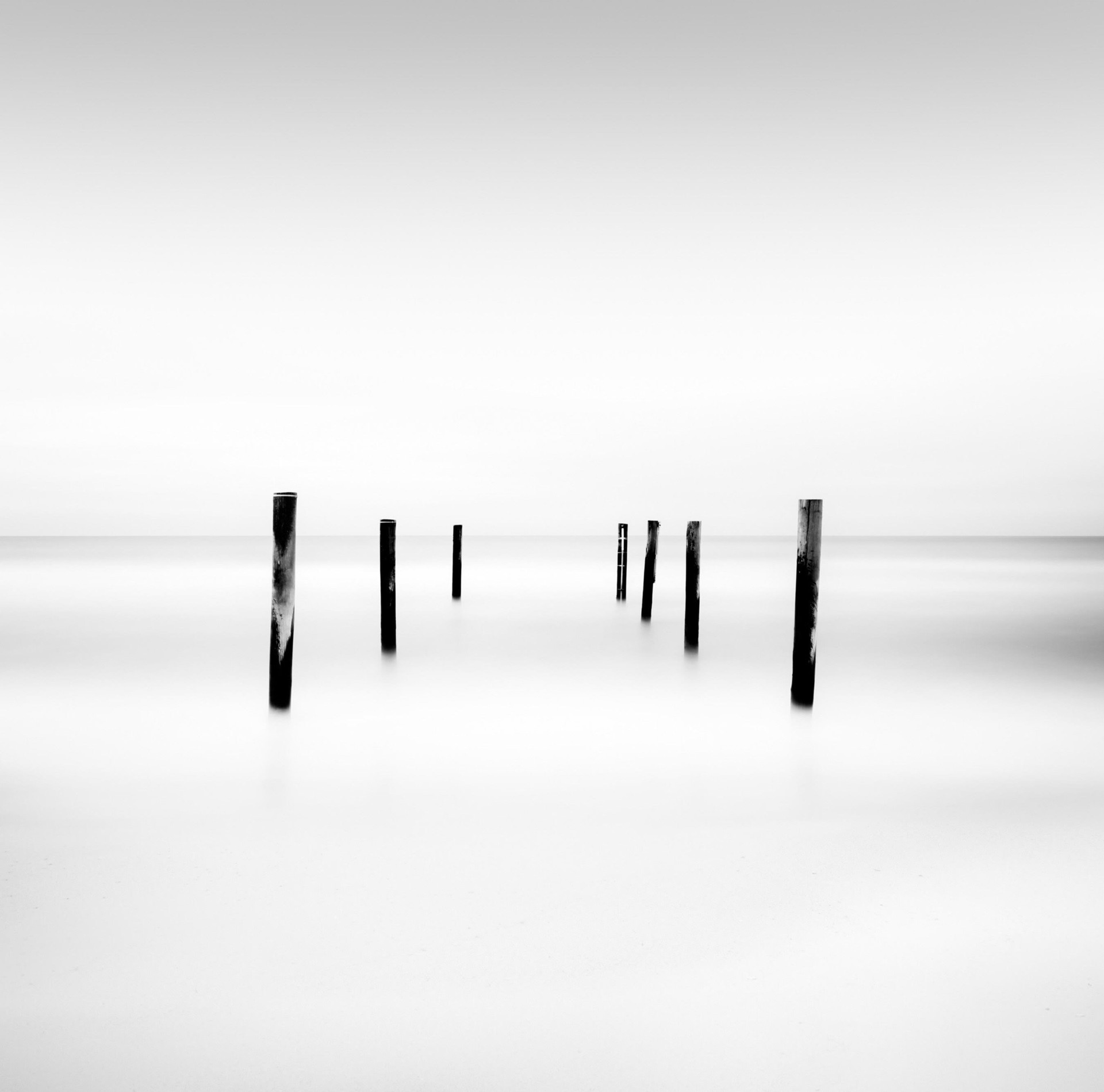 Pilings by Keith Ramsdell