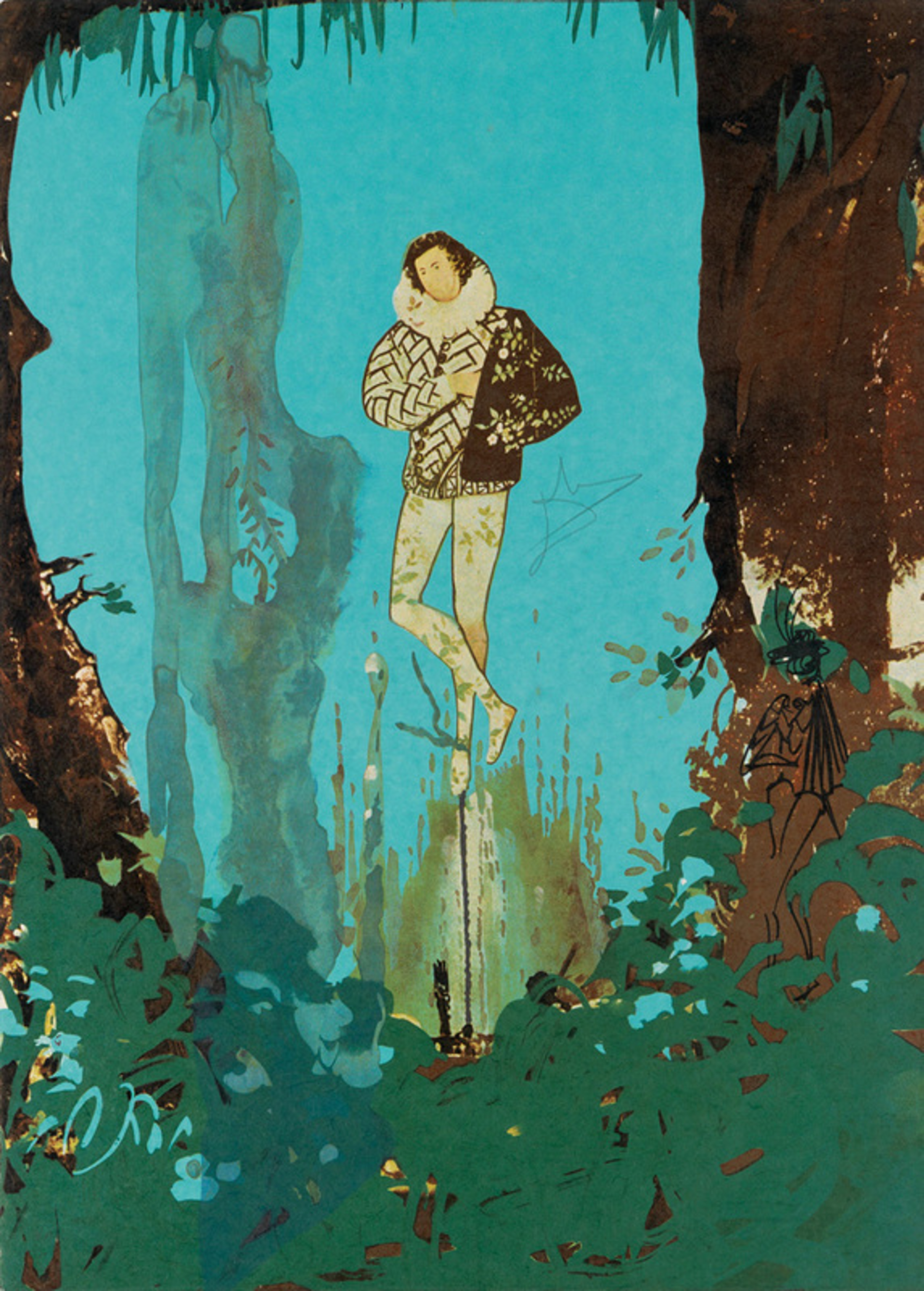 The Prince of Love from the Trilogy of Love Portfolio by Salvador Dali (1904 - 1989)