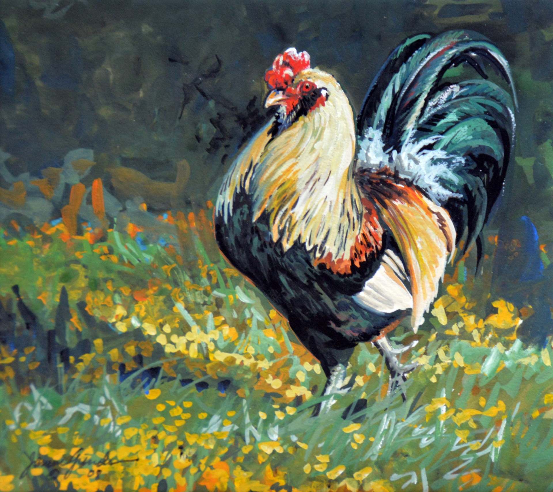 Strut Your Stuff (Rooster) by Janene Grende