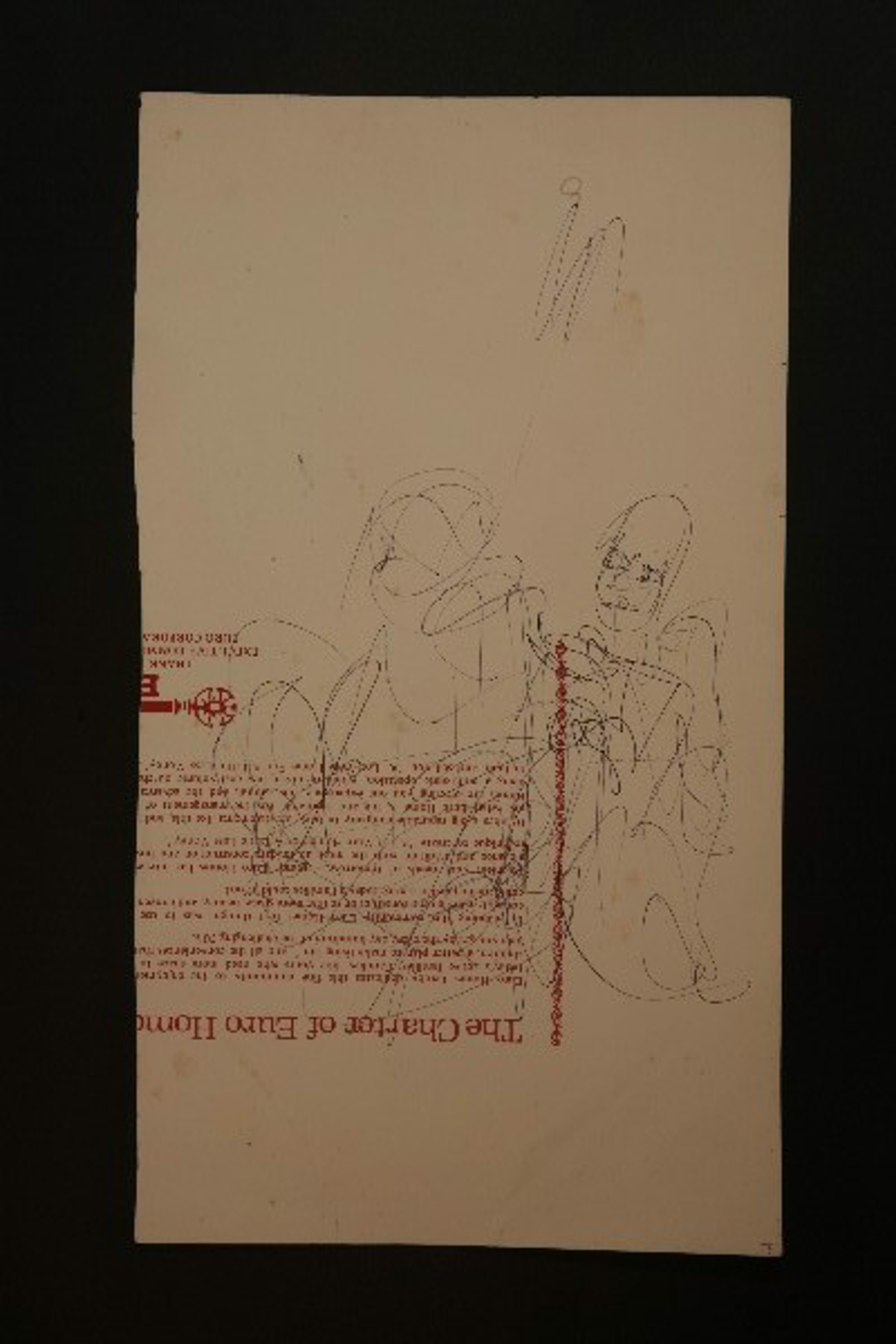 Drawing From the 1970's #26 by Purvis Young (1943 - 2010)