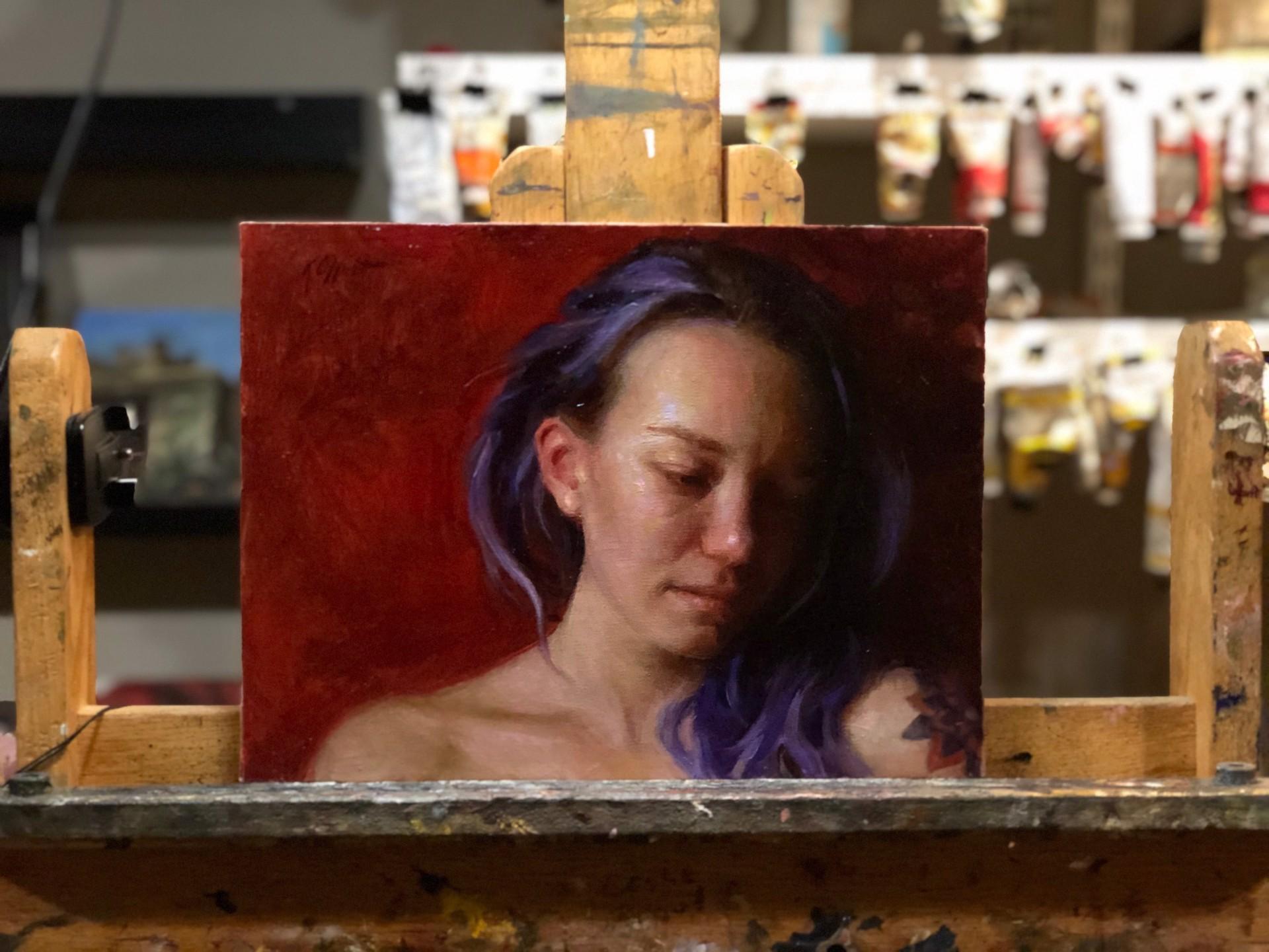 Study of Erin by Karen Offutt
