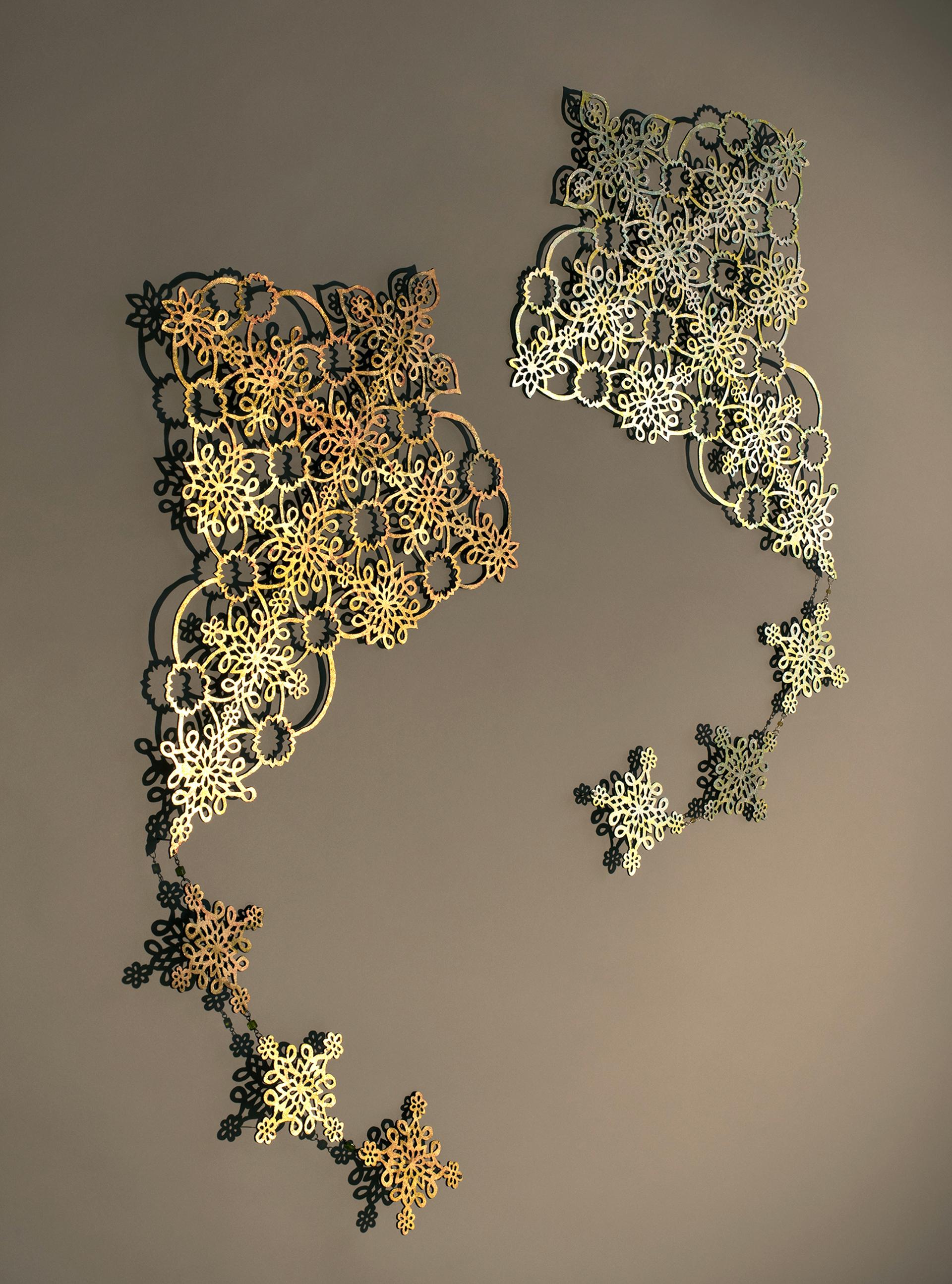 Kite (Gold) by June Sekiguchi
