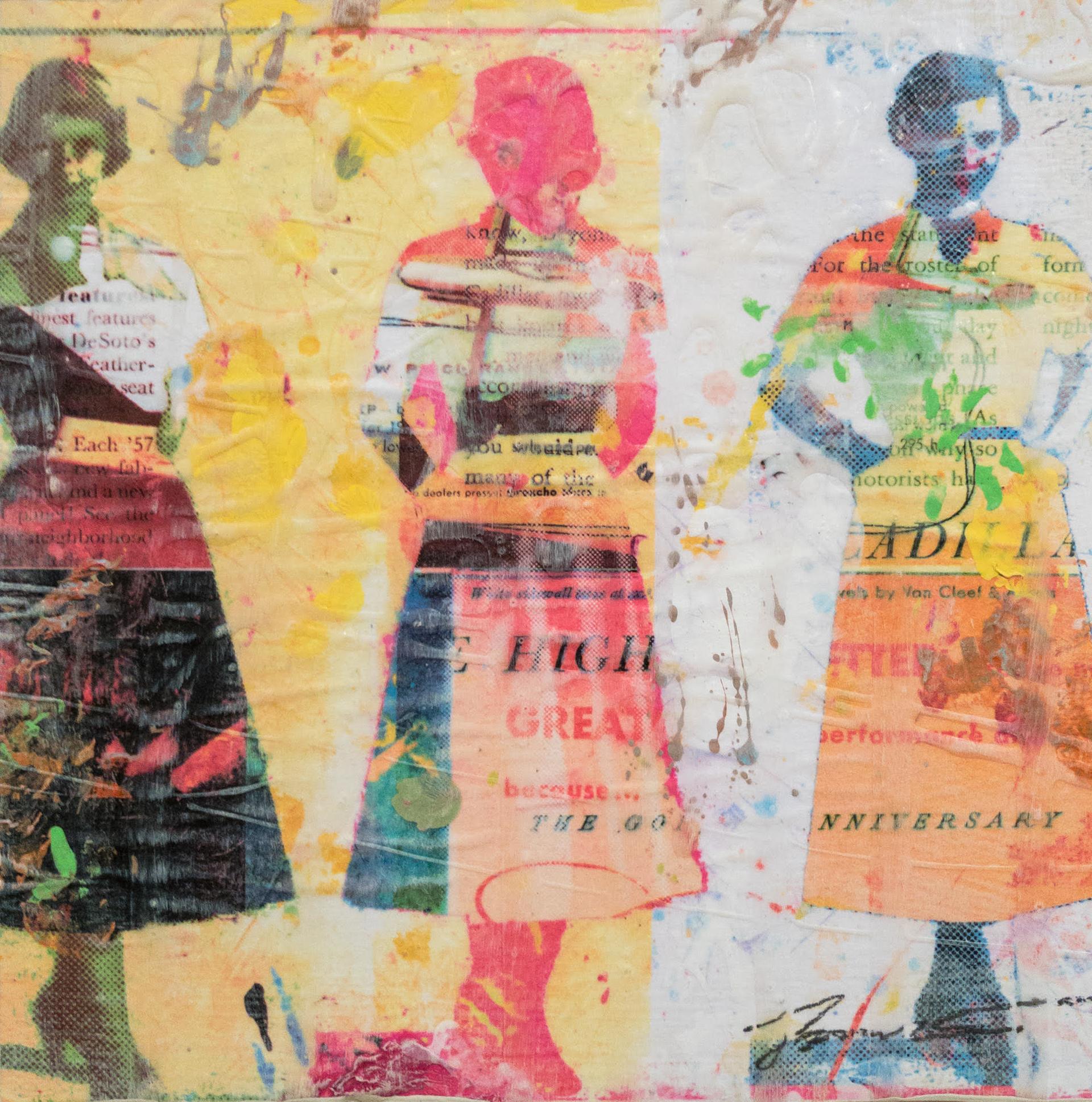 Dress Paper III by Jon Davenport