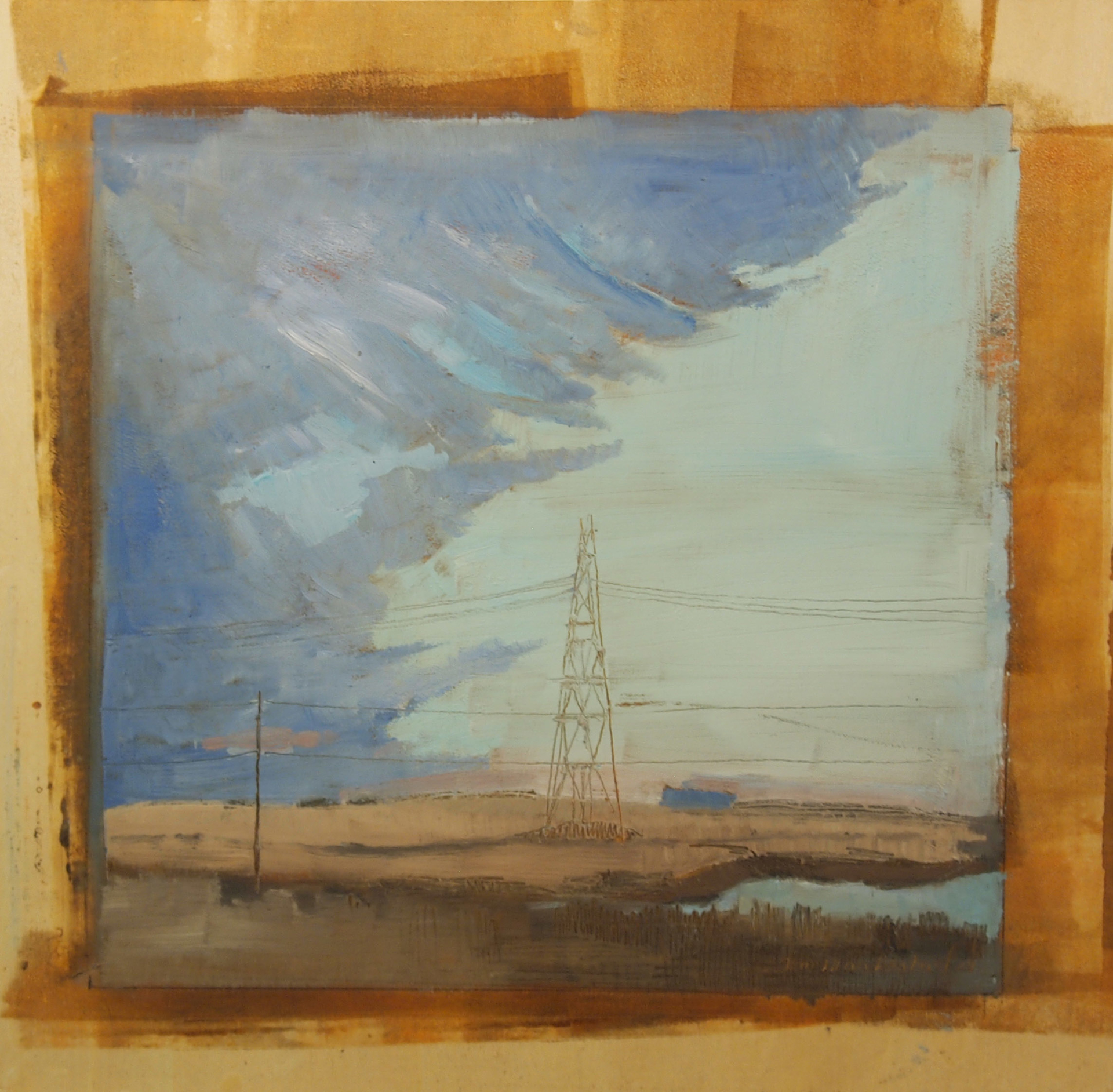 Prairie Sky by Tom Maakestad