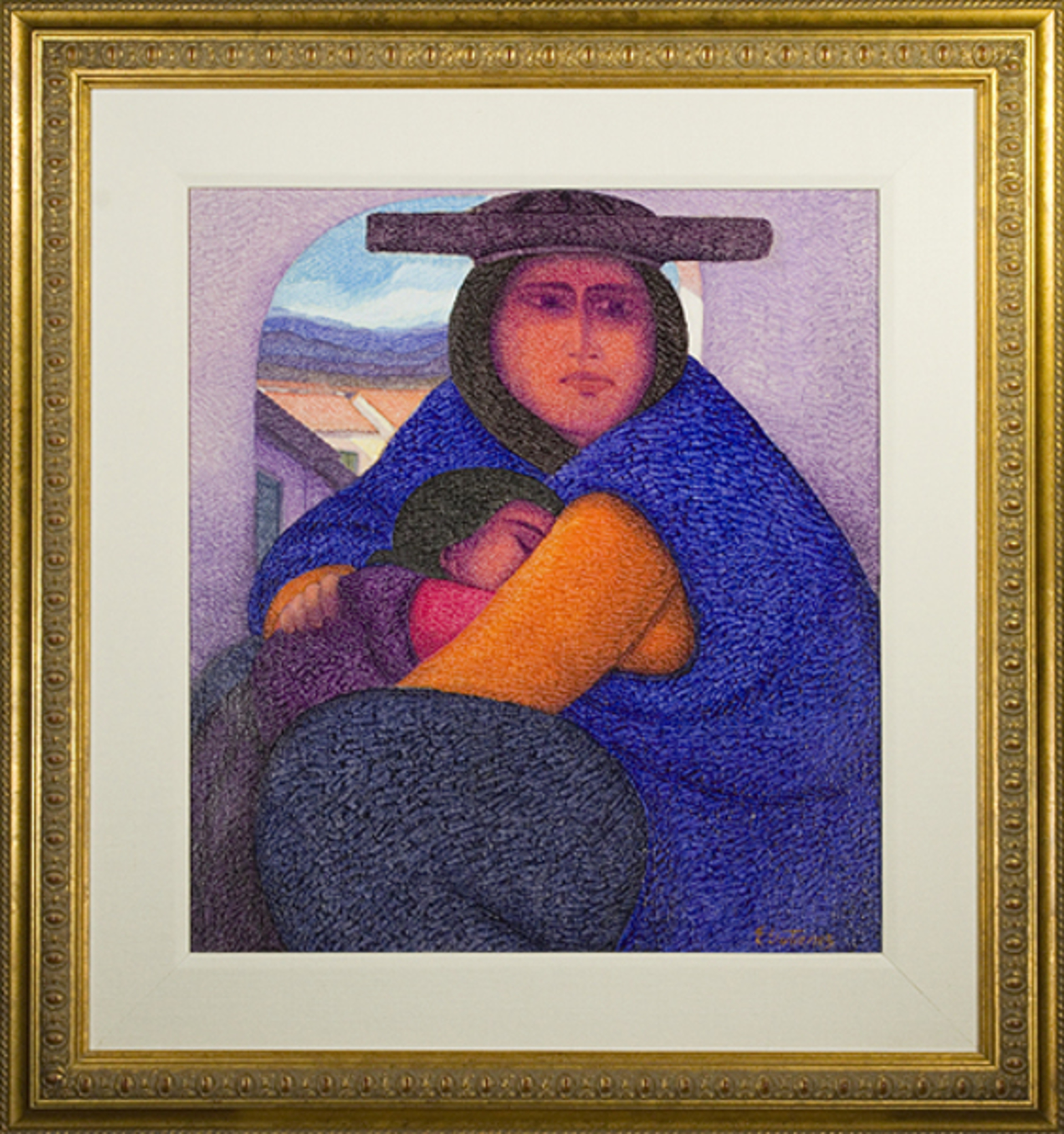 Madre Joven (Young Mother) by Ernesto Gutierrez