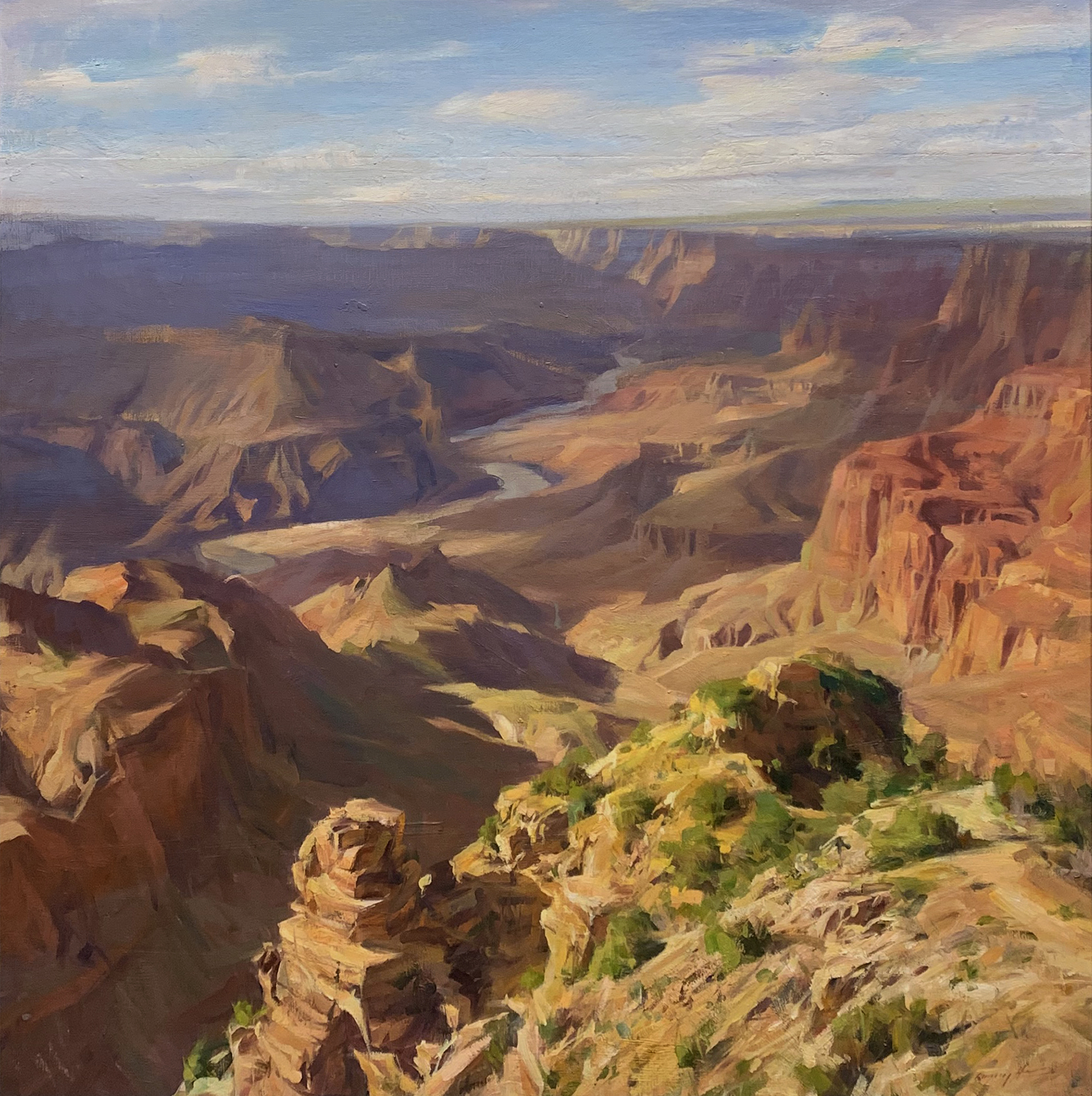 Grand Canyon Late Afternoon by Quang Ho