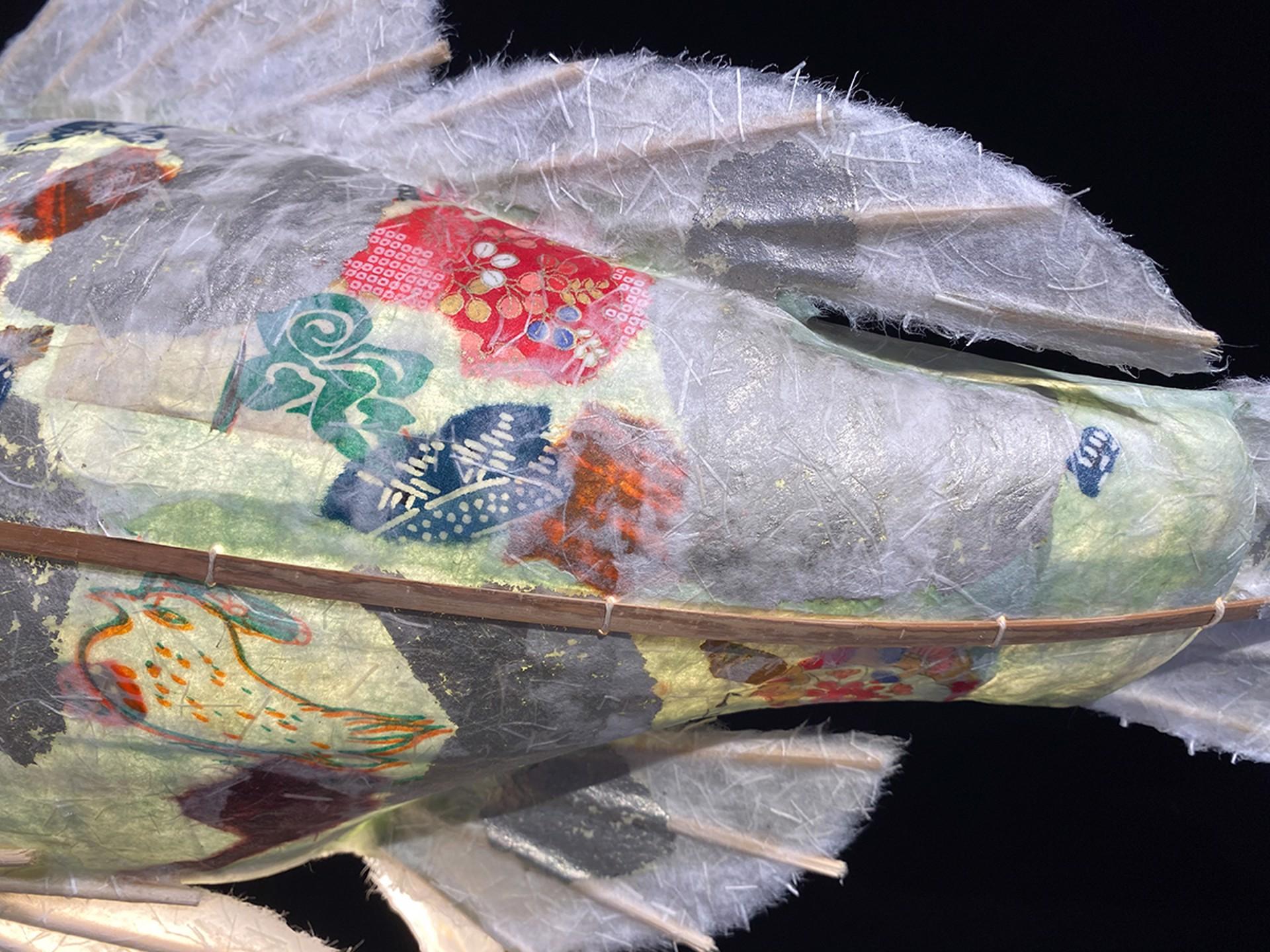 Silver Scale Jade Koi by Elaine Hanowell
