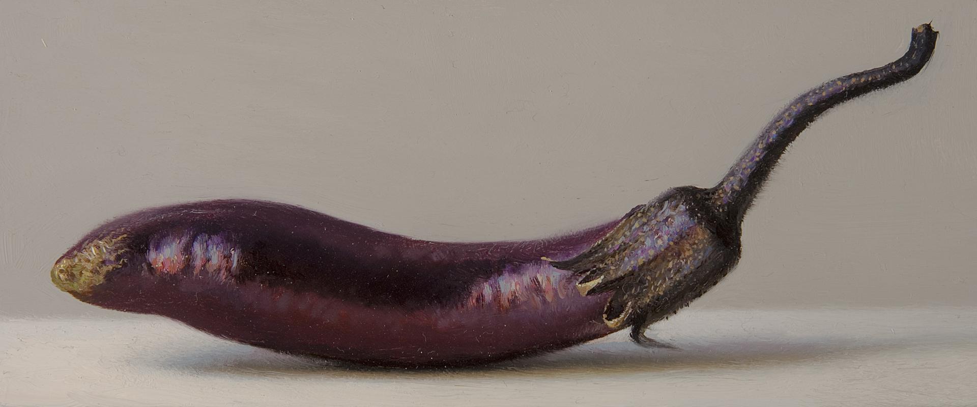 Baby Eggplant by Scott Fraser