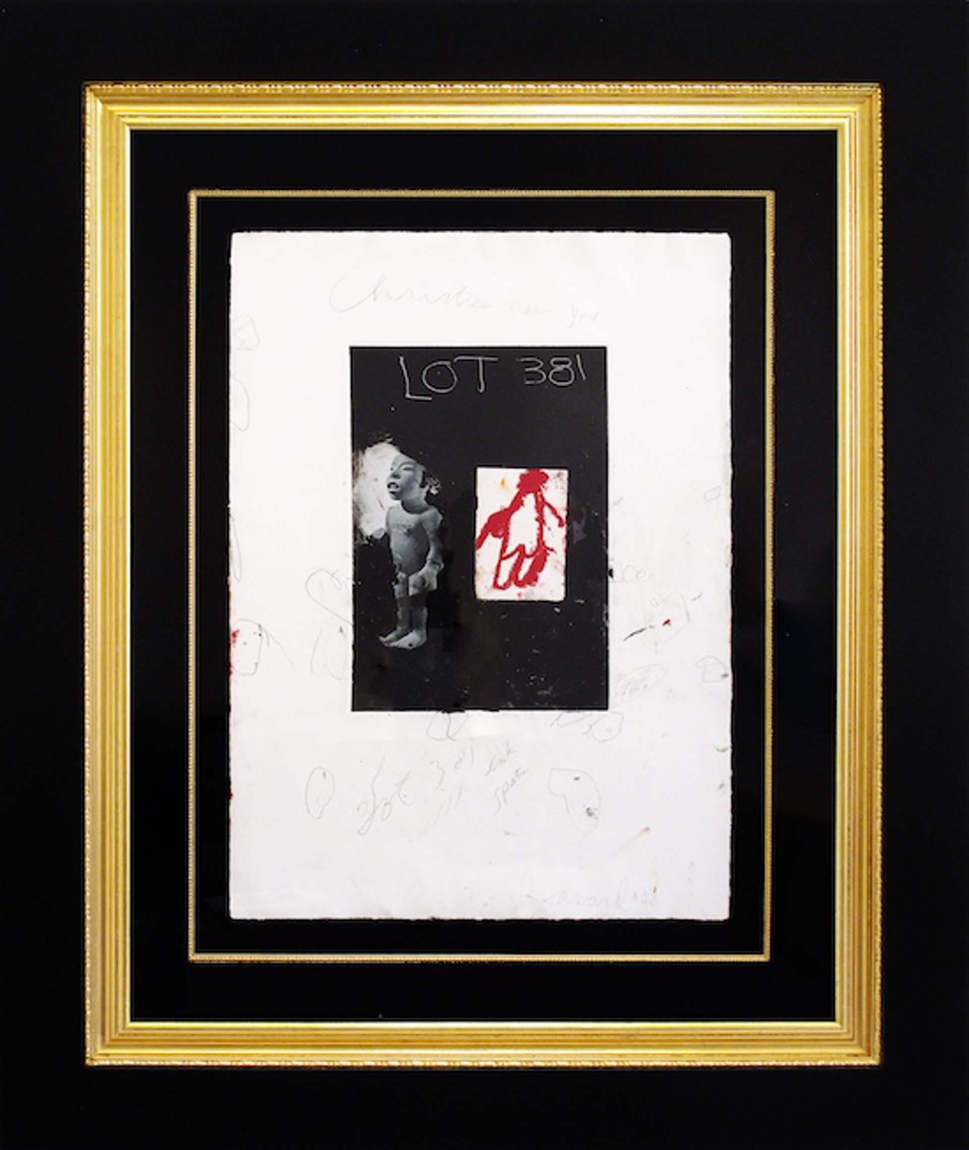 Lot 381 with Ink Spots by James Havard